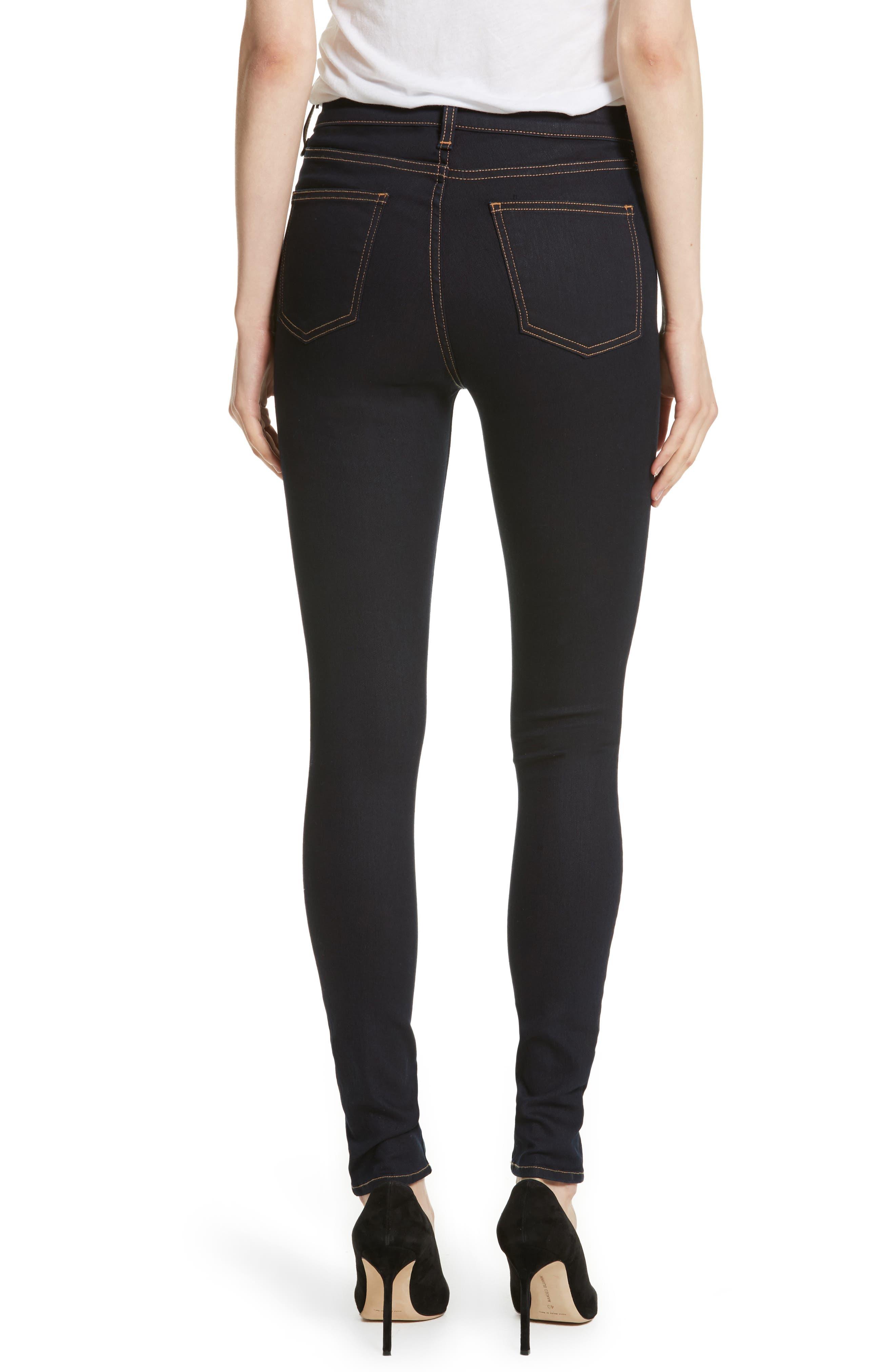 Kate Skinny Jeans,                             Alternate thumbnail 2, color,                             455