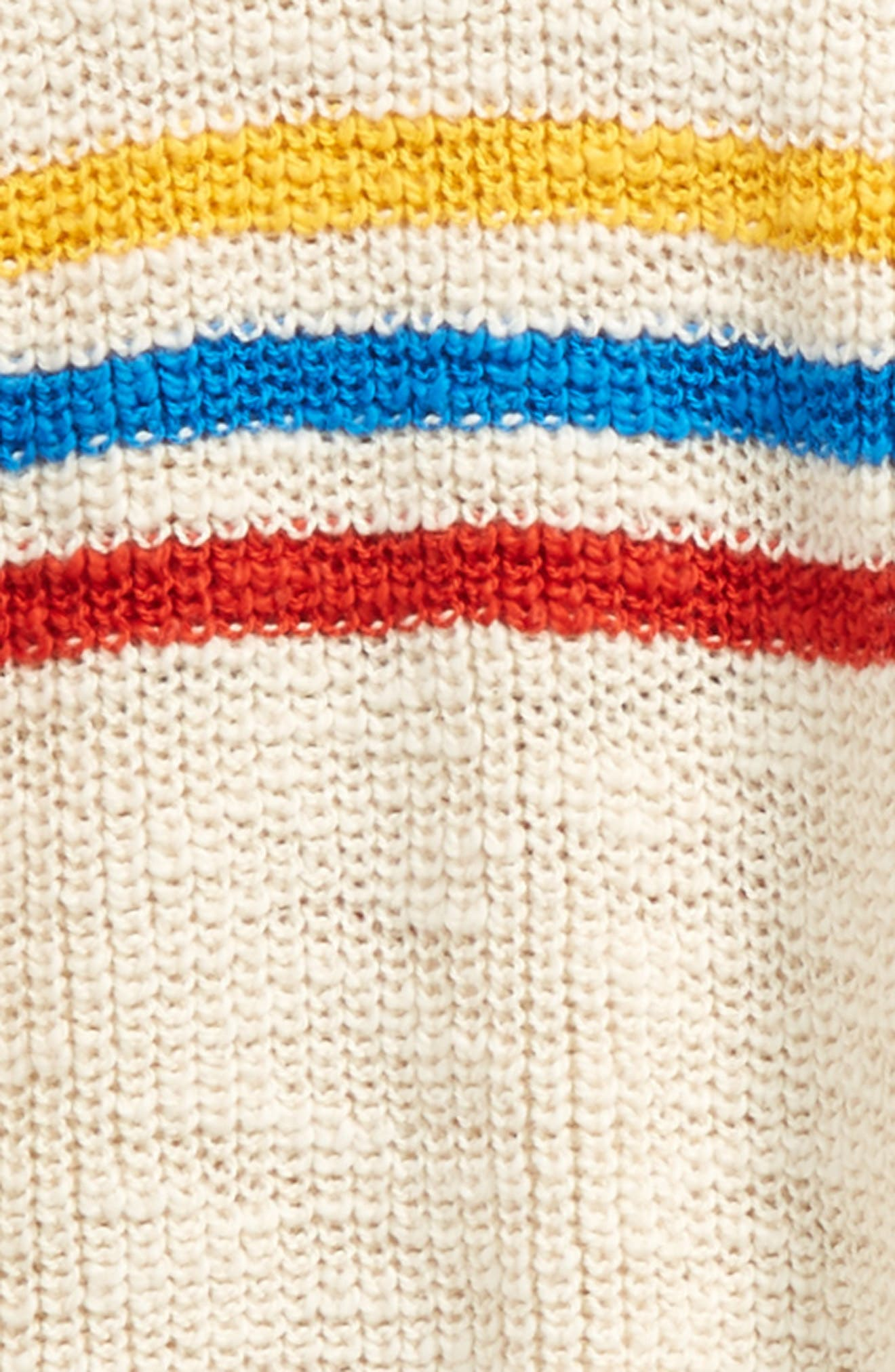 Stripe Sweater,                             Alternate thumbnail 2, color,                             105