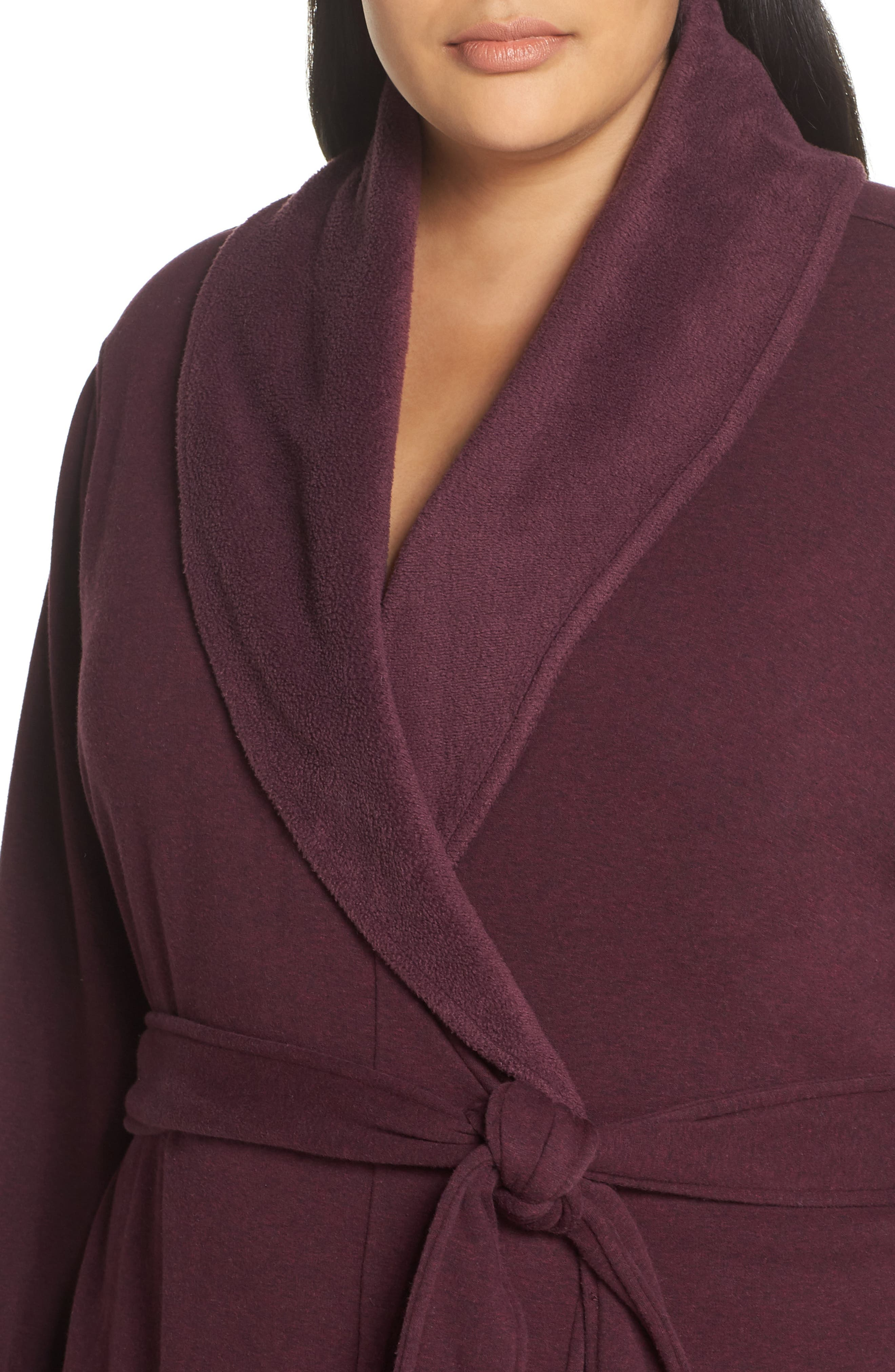 Duffield II Robe,                             Alternate thumbnail 4, color,                             PORT HEATHER