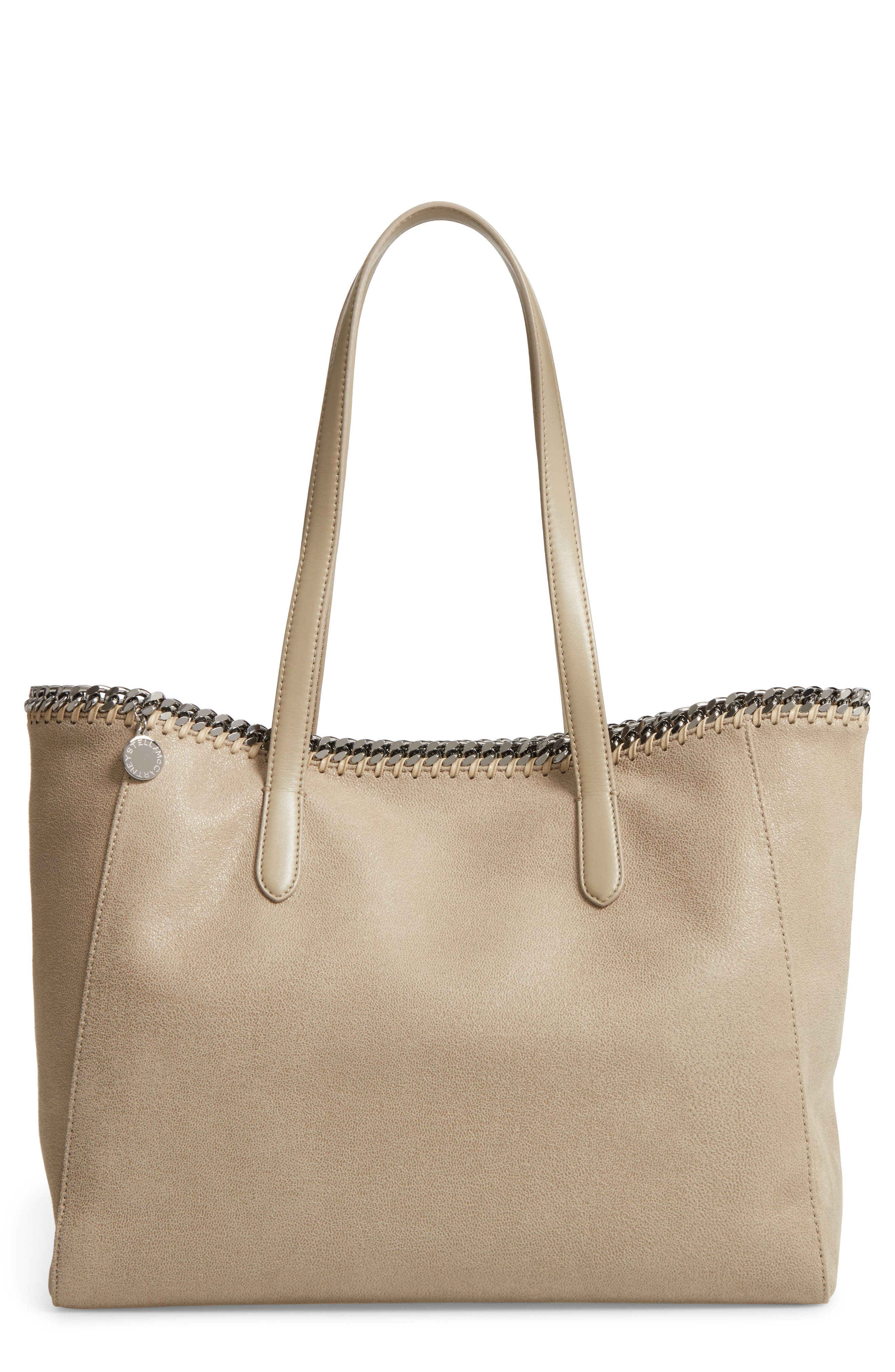 'Falabella - Shaggy Deer' Faux Leather Tote,                             Main thumbnail 3, color,
