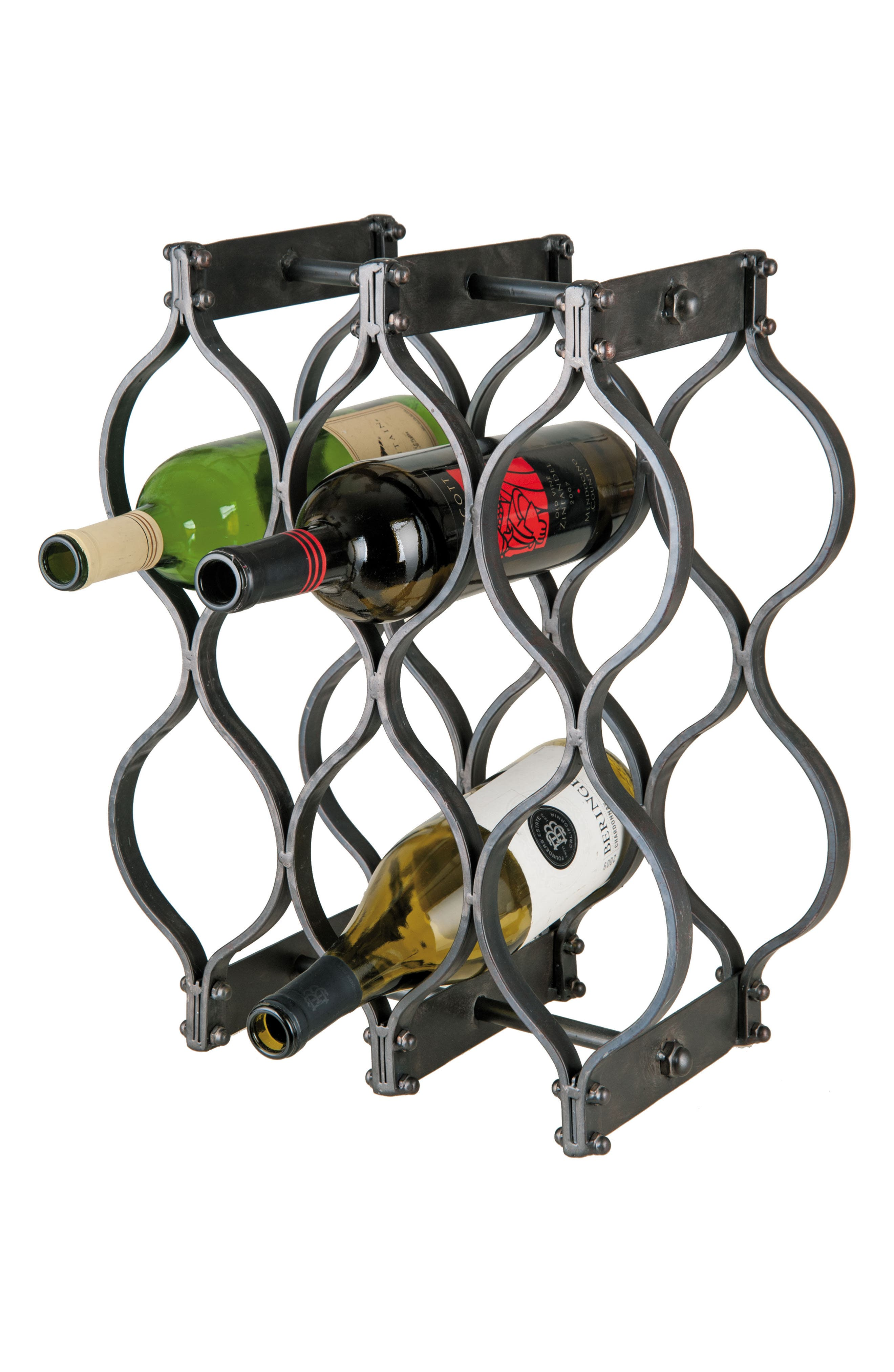8-Bottle Wine Rack,                         Main,                         color,