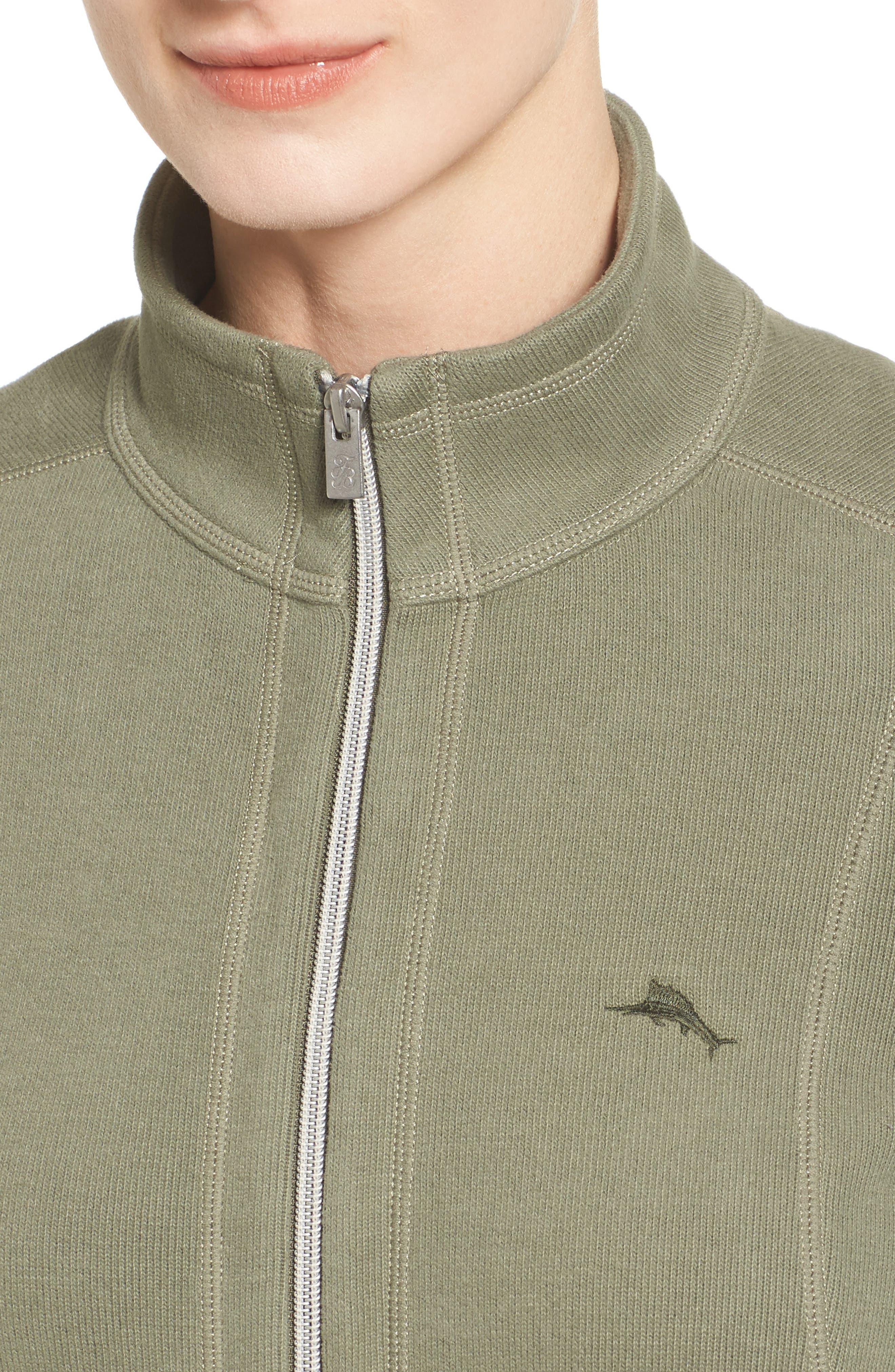 'Aruba' Full Zip Sweatshirt,                             Alternate thumbnail 27, color,