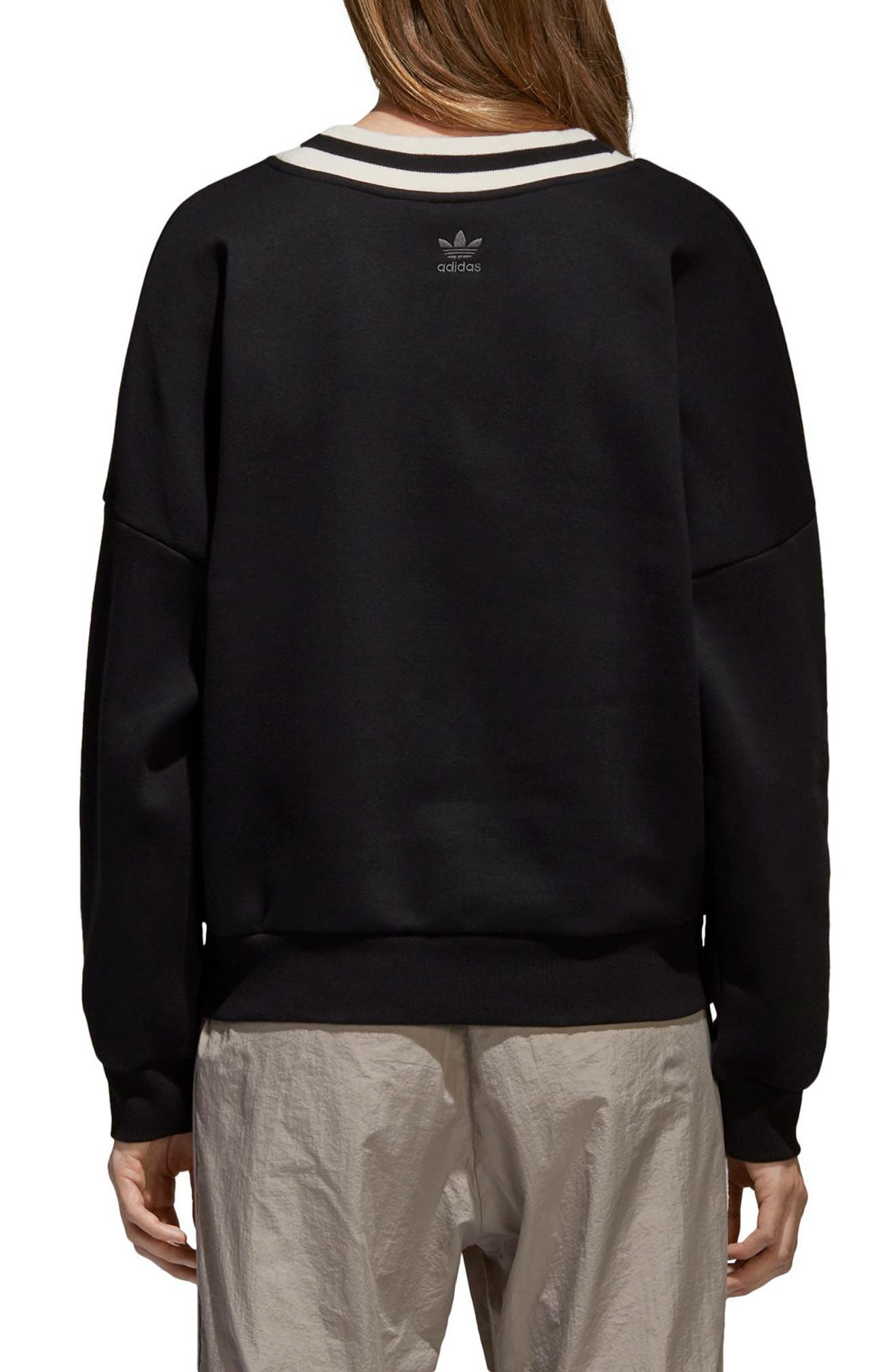 Originals Adibreak Sweatshirt,                             Alternate thumbnail 2, color,                             001