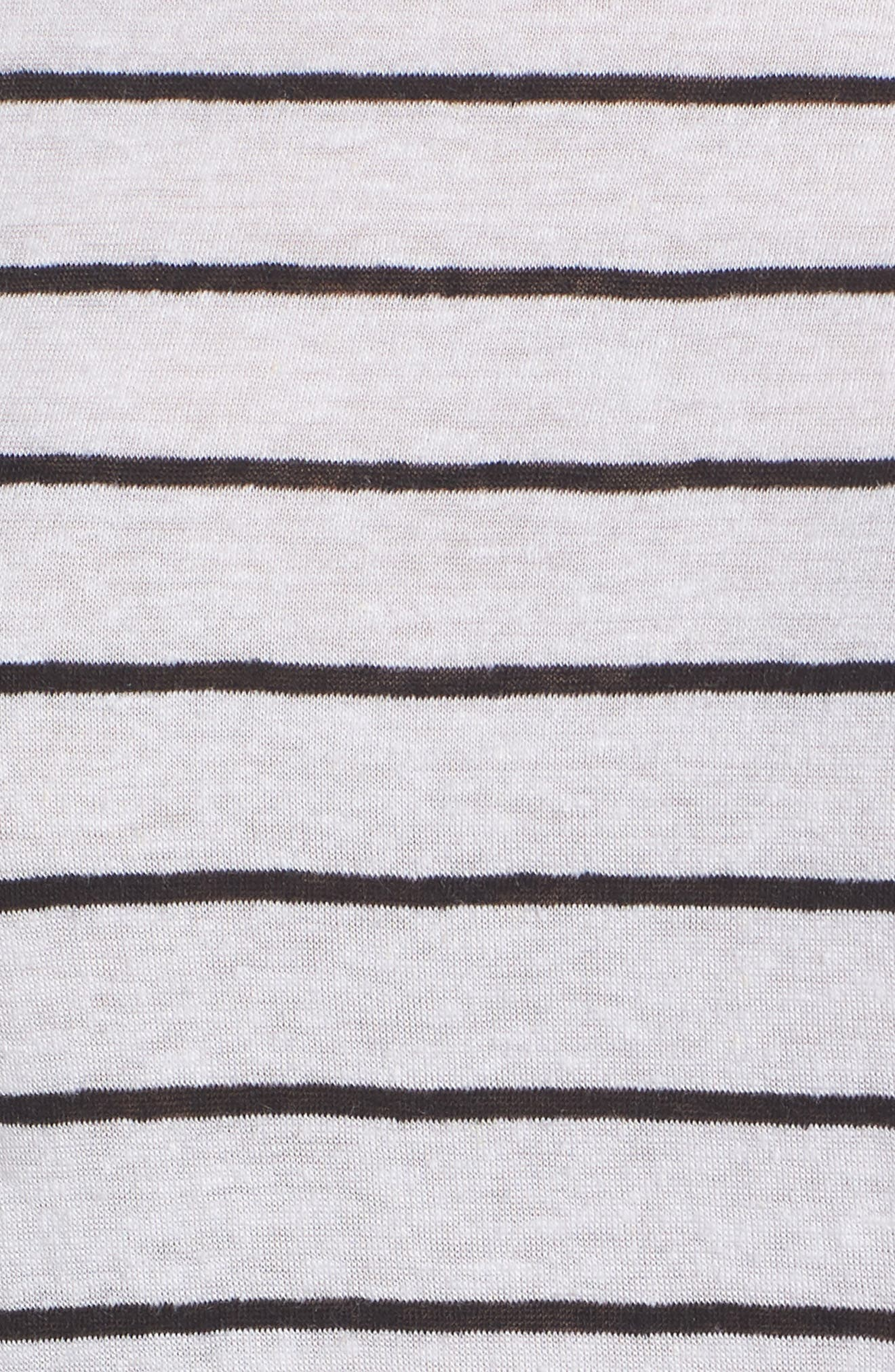 Splice Neck Tie Hem Tee,                             Alternate thumbnail 10, color,