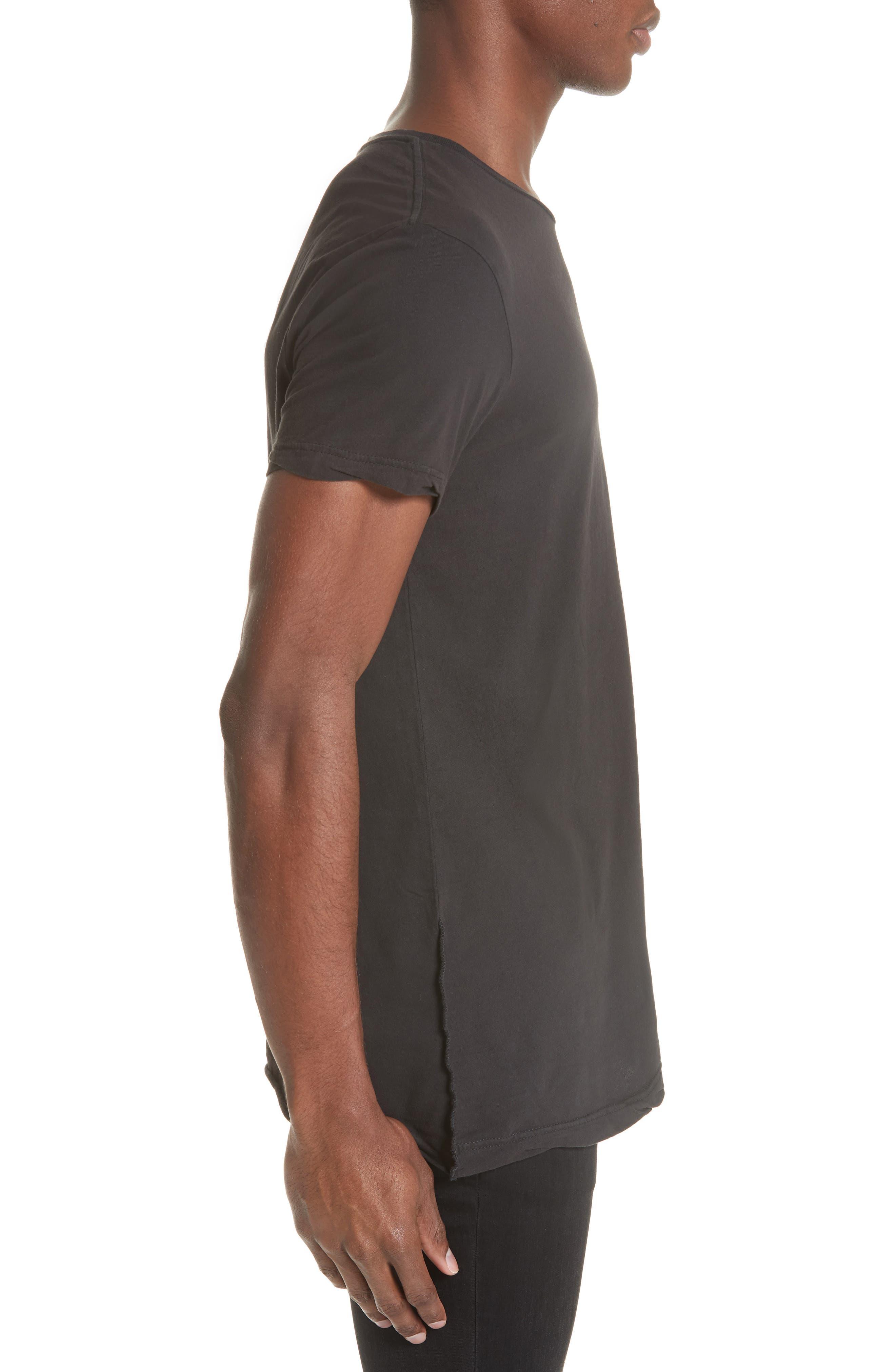 KSUBI,                             Seeing Lines T-Shirt,                             Alternate thumbnail 3, color,                             BLACK
