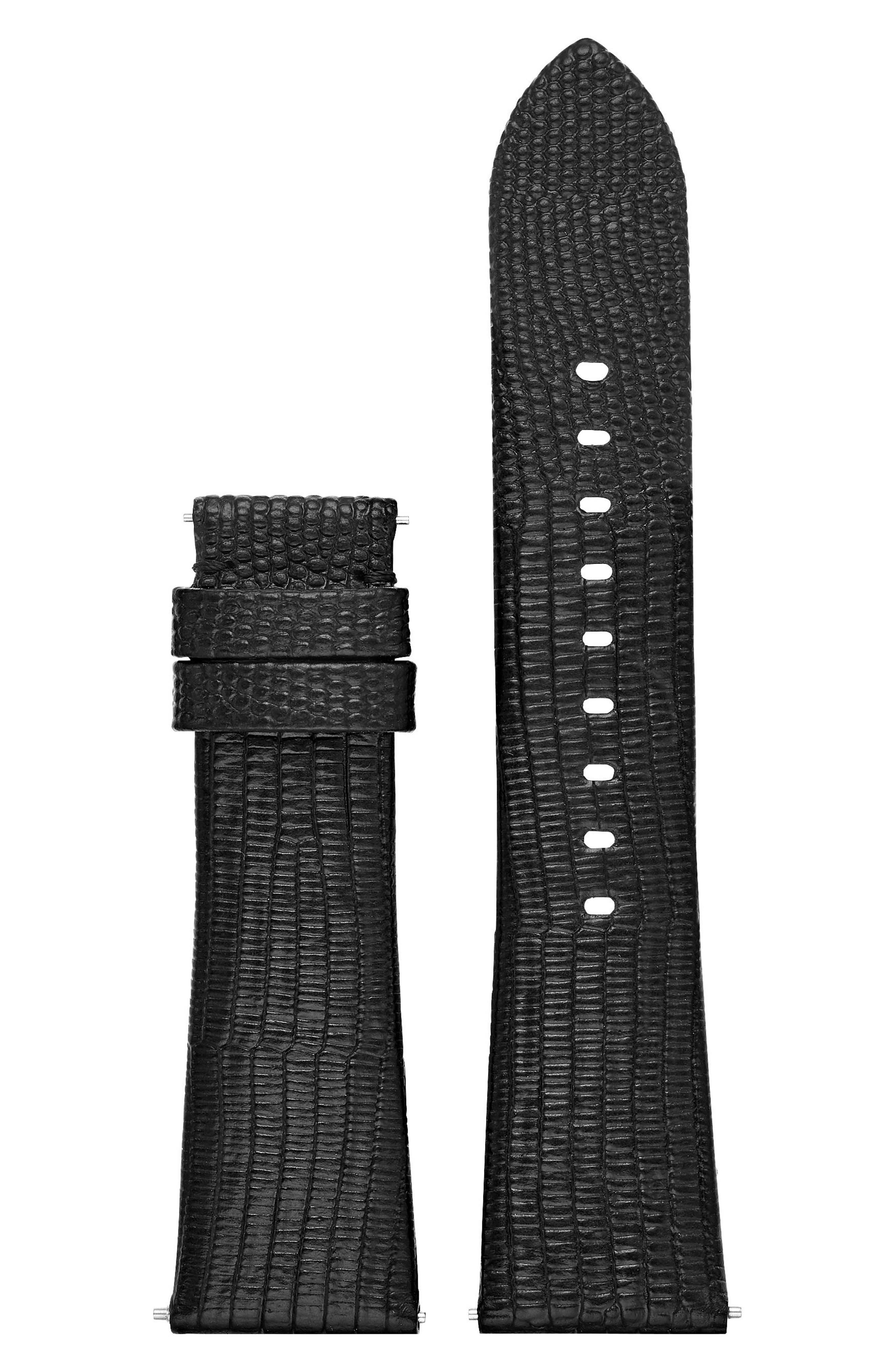 Bradshaw Interchangeable Leather Strap,                             Alternate thumbnail 2, color,                             001
