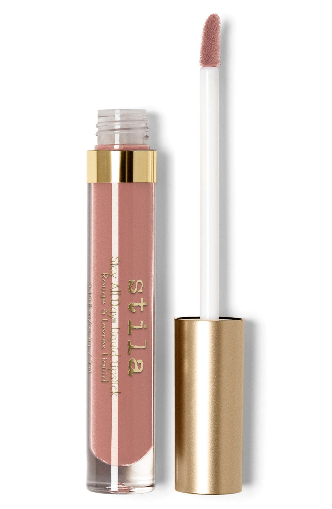 Stay All Day<sup>®</sup> Sheer Liquid Lipstick,                             Main thumbnail 1, color,                             SHEER CARAMELLO