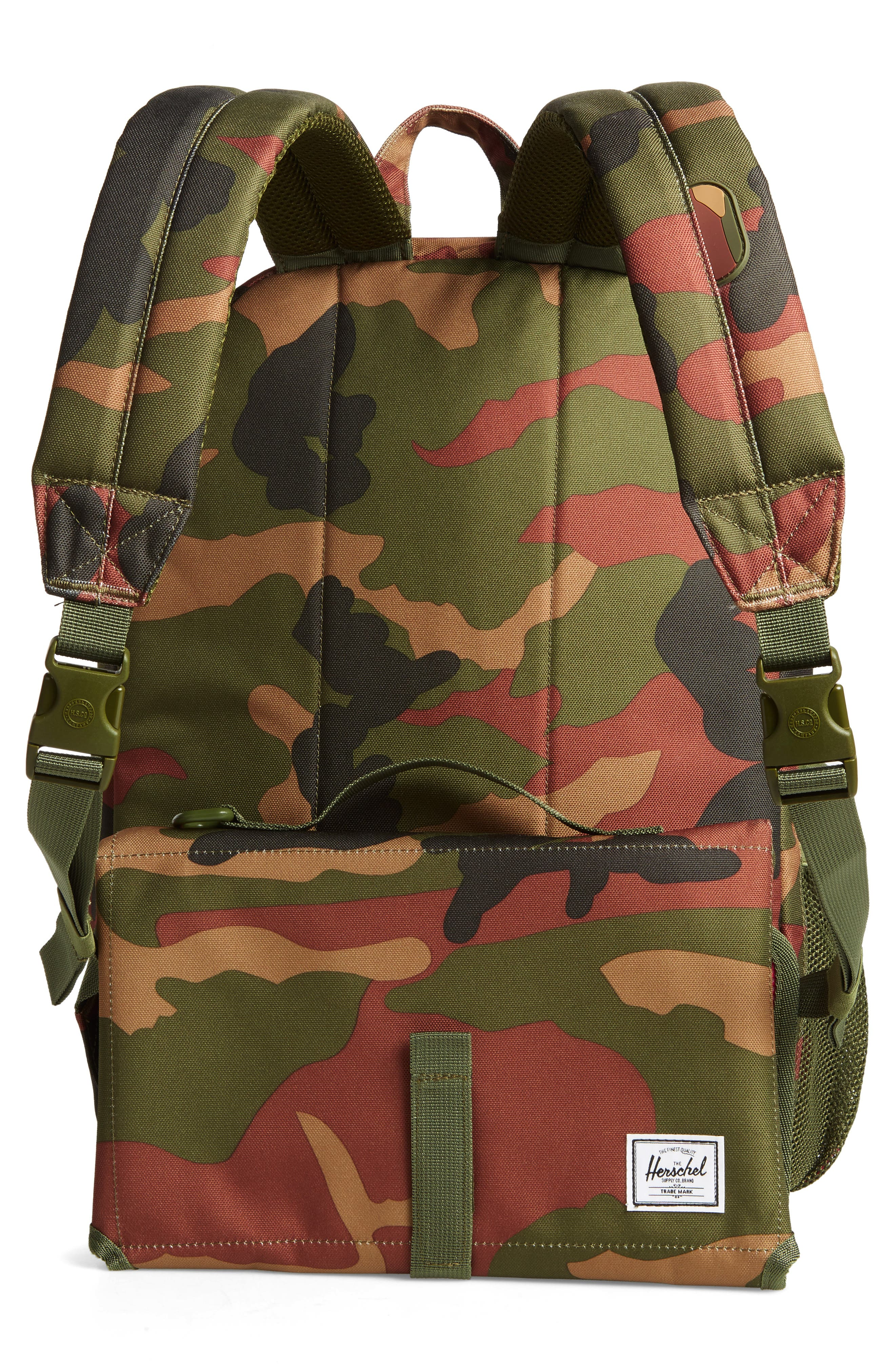 HERSCHEL SUPPLY CO.,                             Settlement Sprout Diaper Backpack,                             Alternate thumbnail 3, color,                             340
