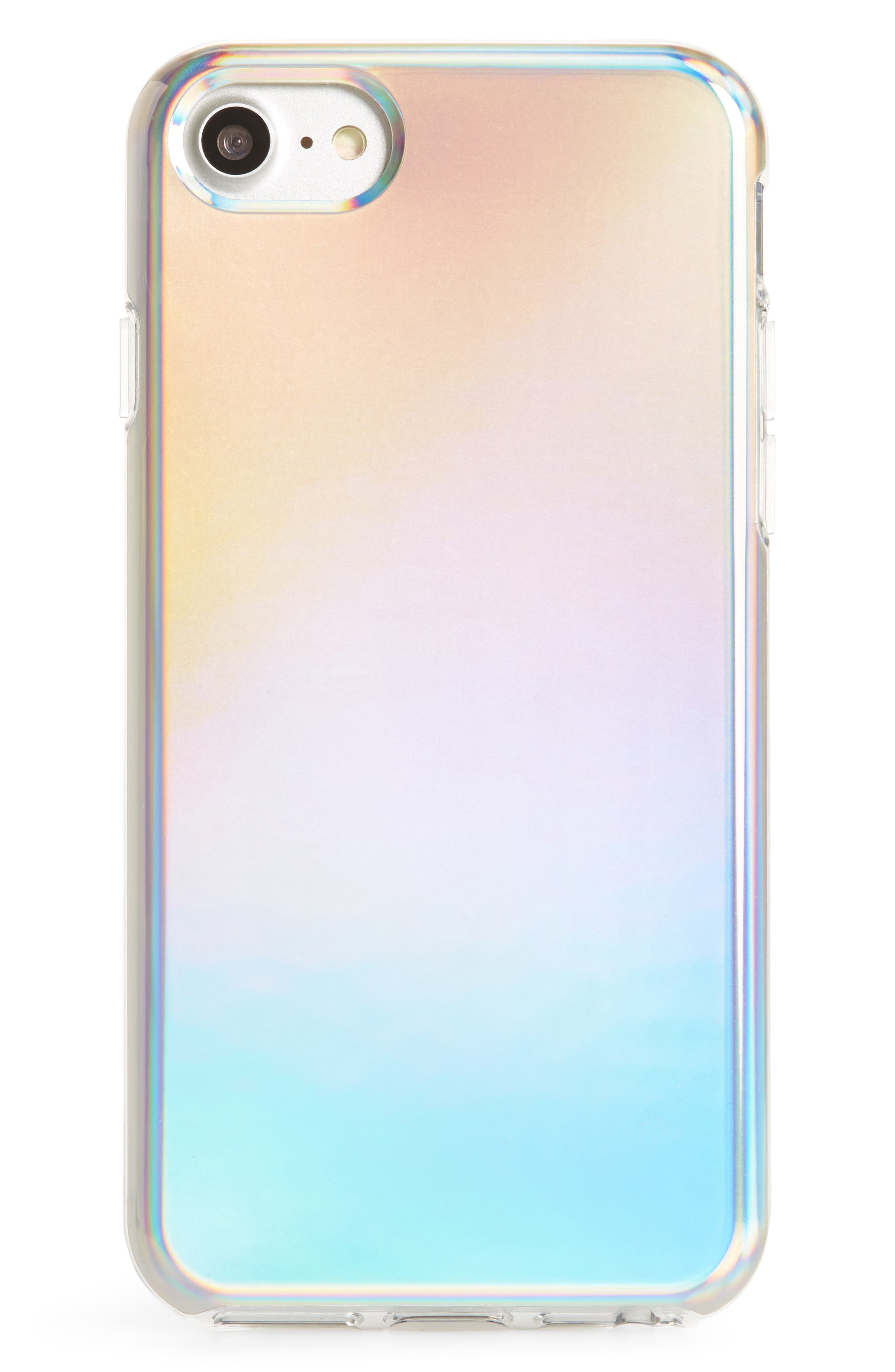 Holographic iPhone 7/8 & 7/8 Plus Case,                         Main,                         color, 400