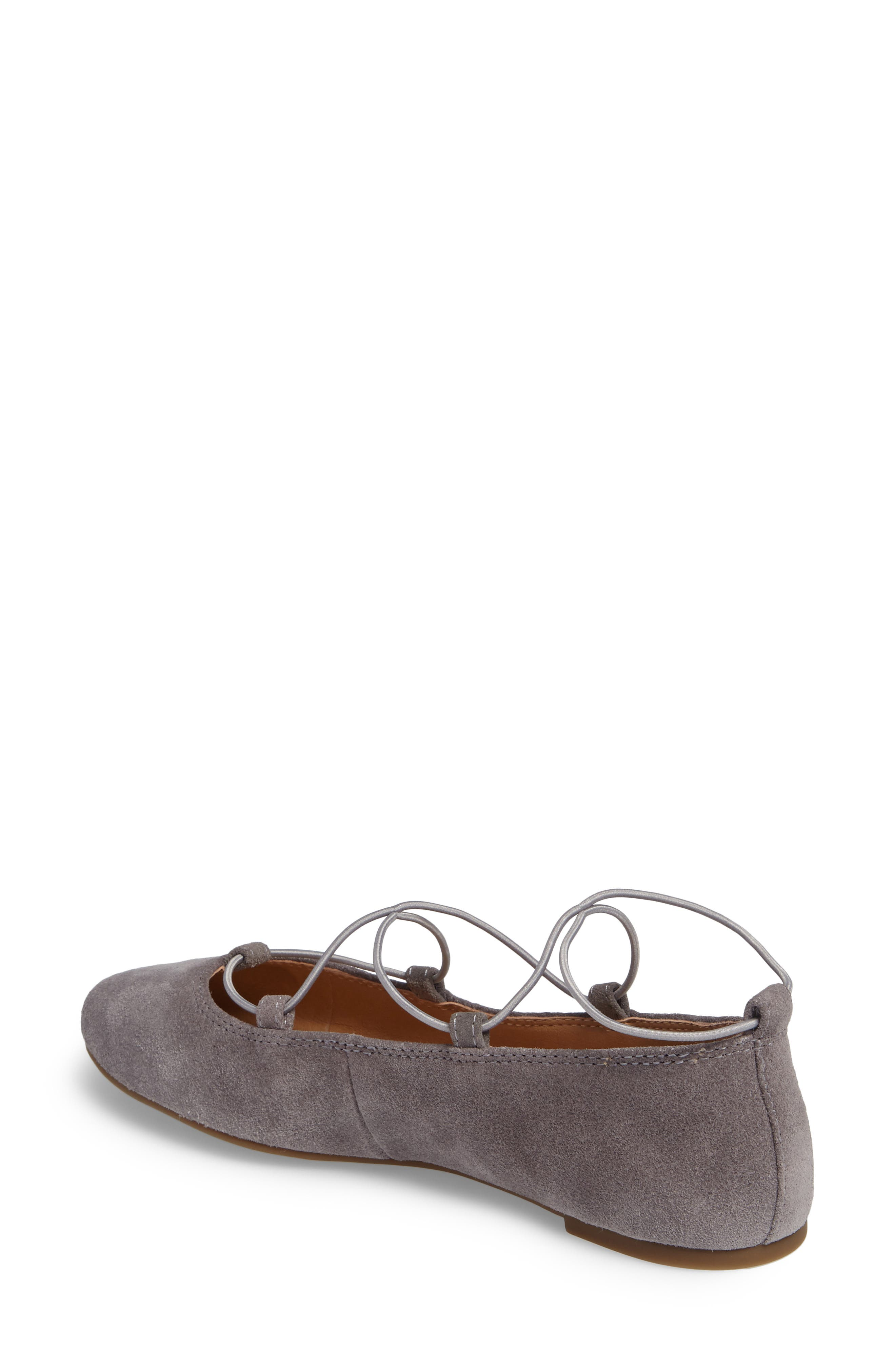 'Aviee' Lace-Up Flat,                             Alternate thumbnail 12, color,