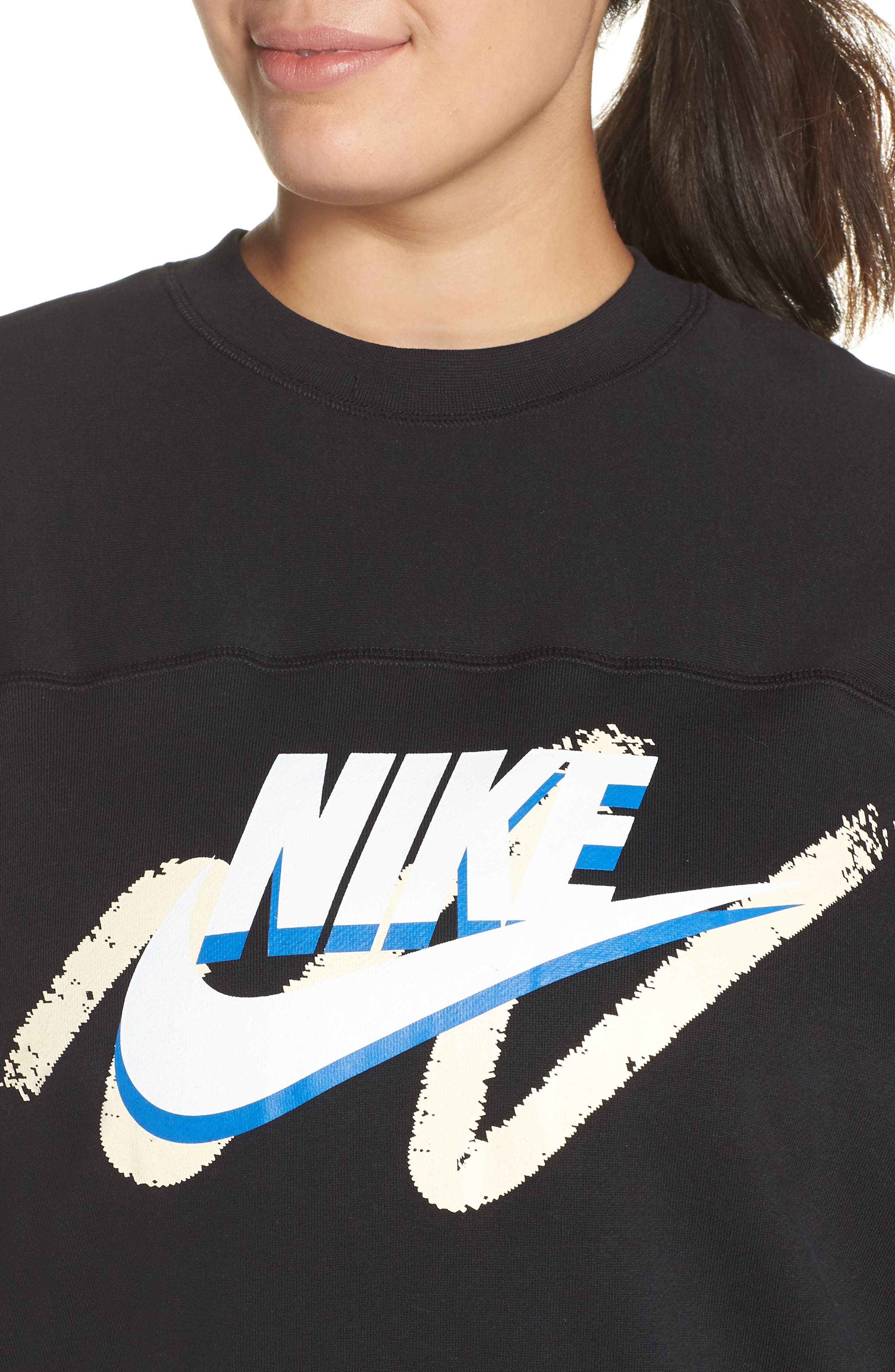 Sportswear Archive Sweatshirt,                             Alternate thumbnail 4, color,                             010