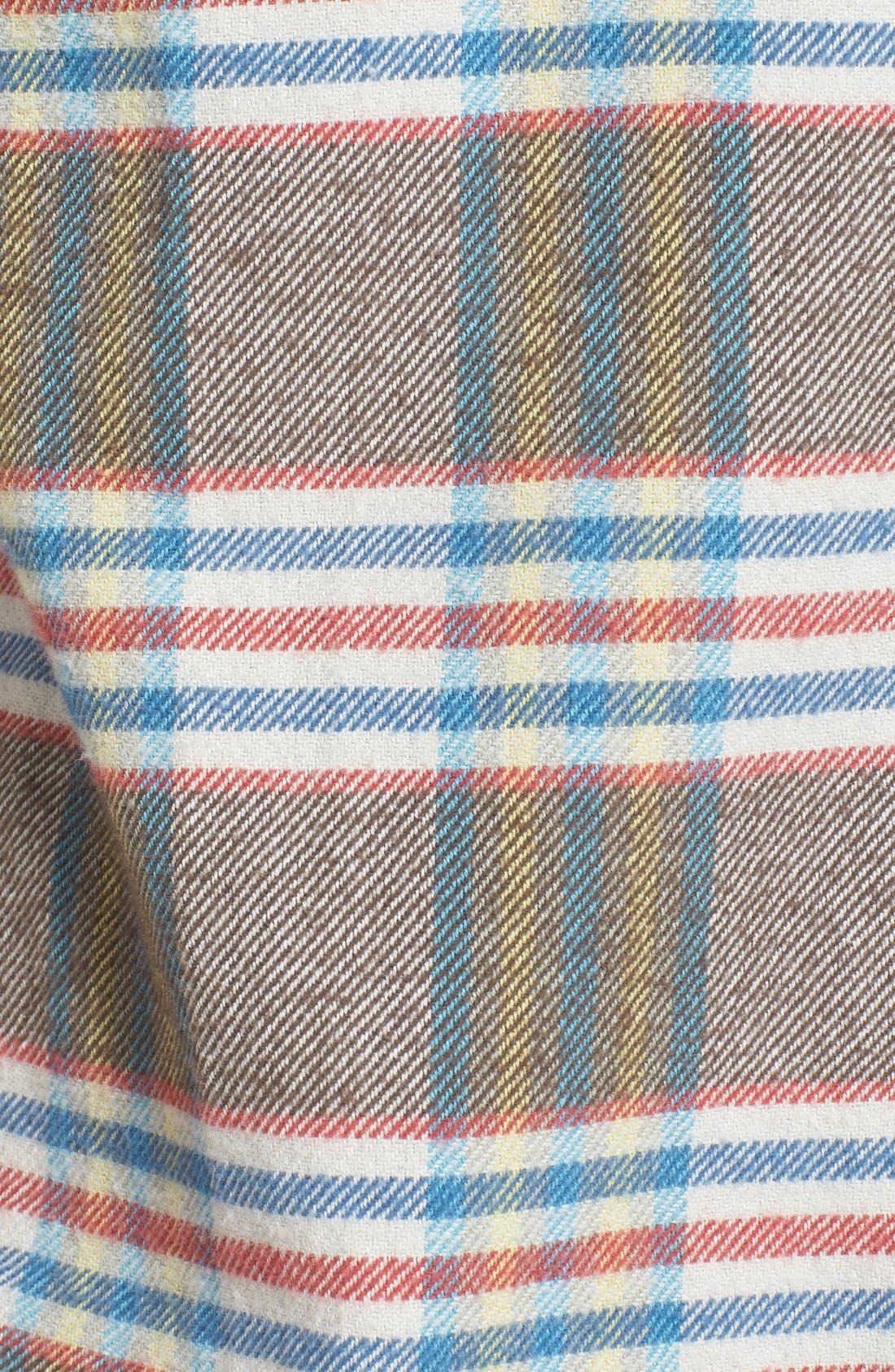 'Flannel Time' Original FitPlaid Flannel Shirt,                             Alternate thumbnail 3, color,                             200