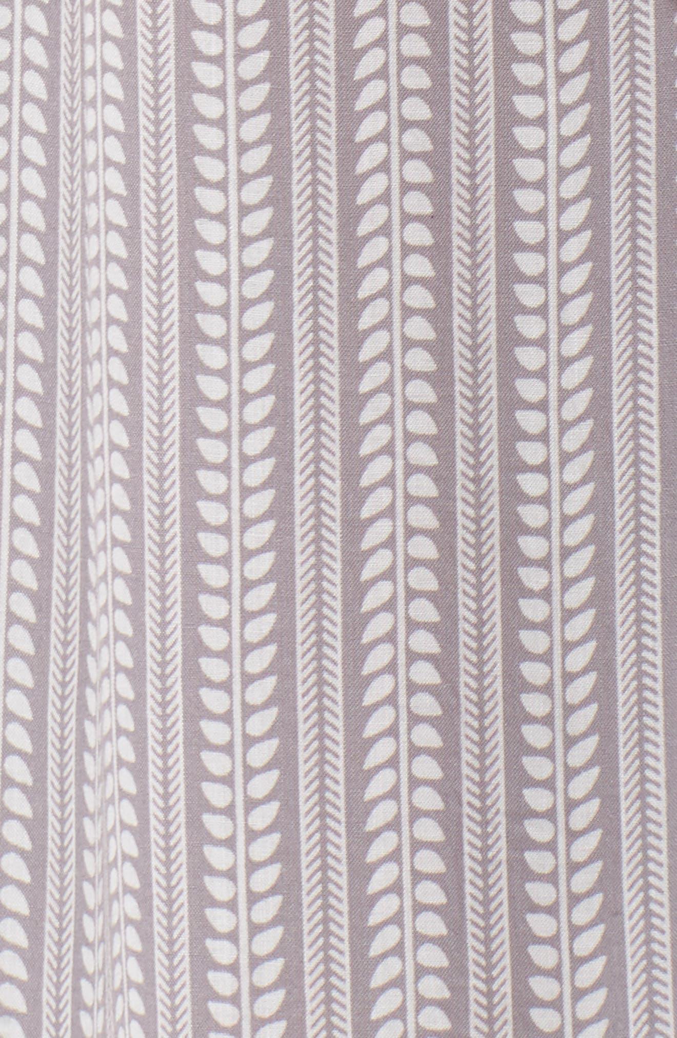 Wrap Maxi Cover-Up Dress,                             Alternate thumbnail 9, color,