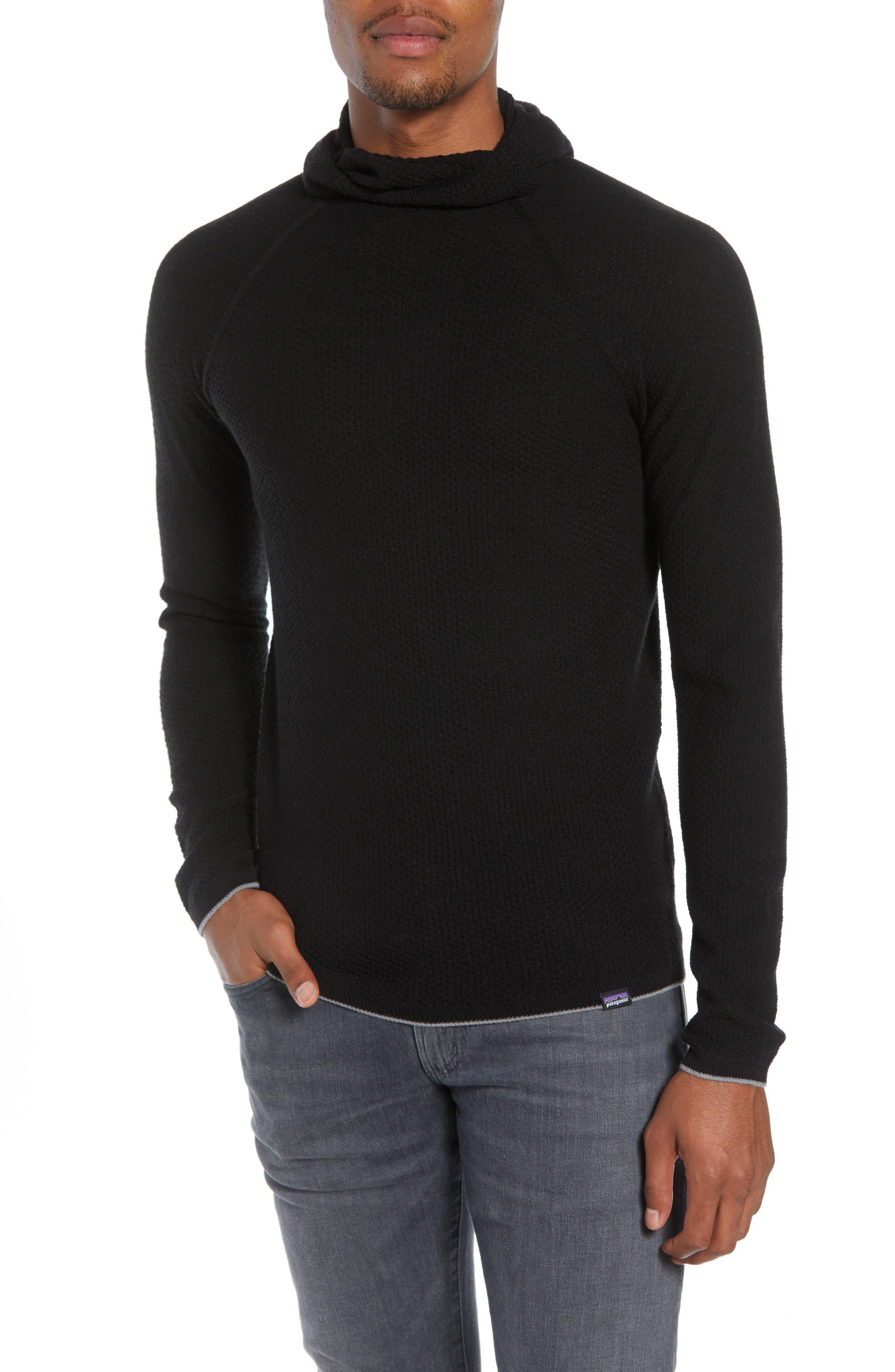Capilene<sup>®</sup> Air Hoodie,                         Main,                         color, BLACK