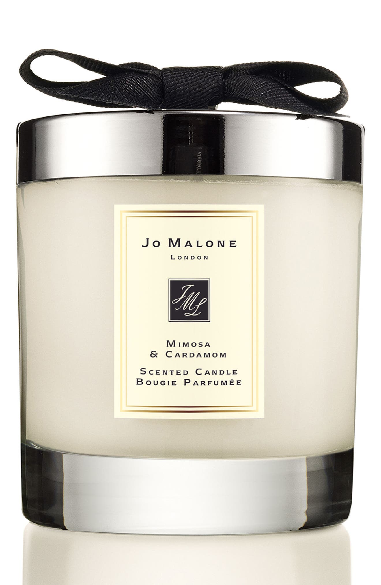 JO MALONE LONDON<SUP>™</SUP>,                             Jo Malone<sup>™</sup> Mimosa & Cardamom Scented Candle,                             Main thumbnail 1, color,                             NO COLOR