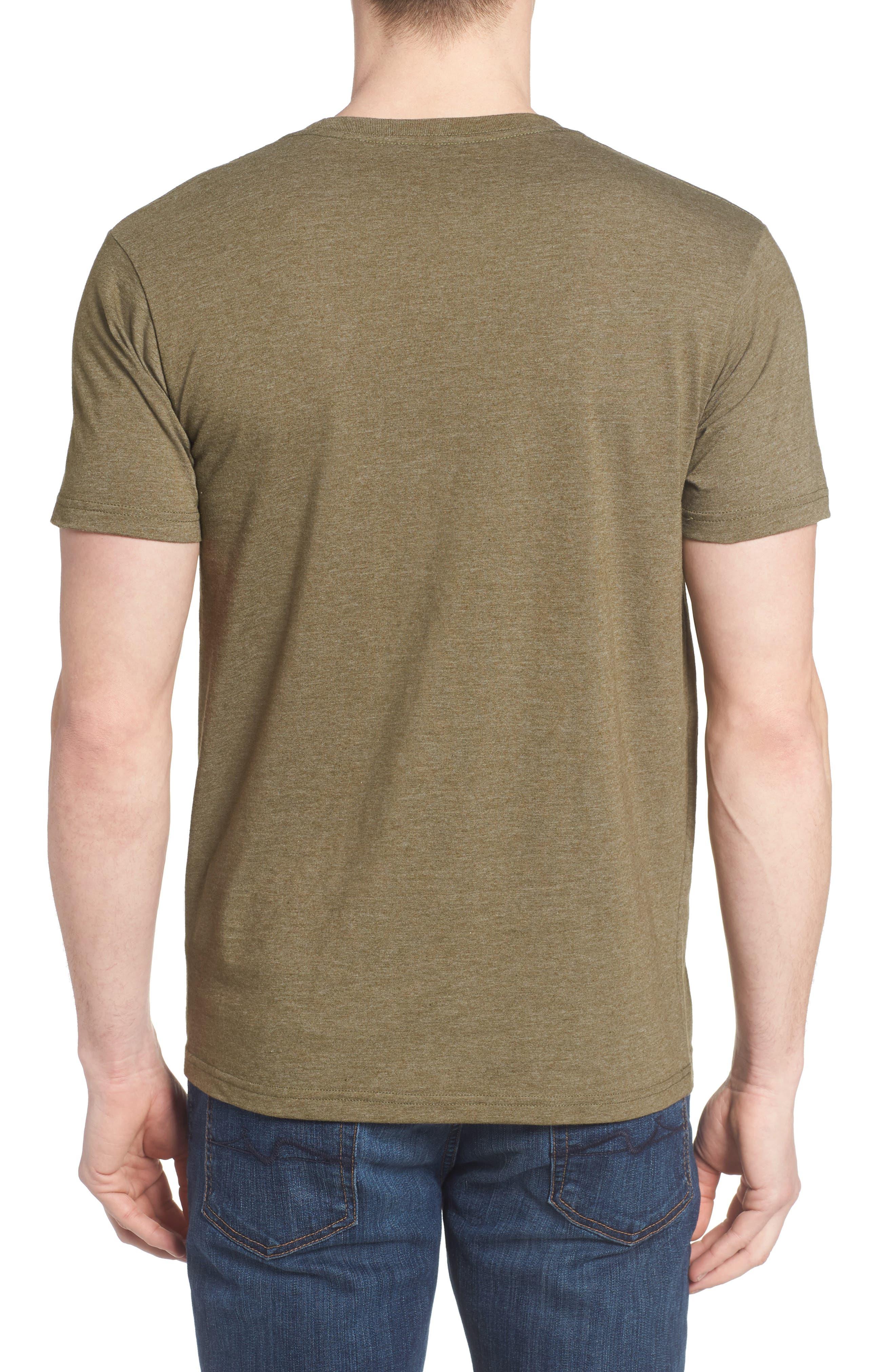 'Fitz Roy Crest' Slim Fit Organic Cotton Blend T-Shirt,                             Alternate thumbnail 12, color,