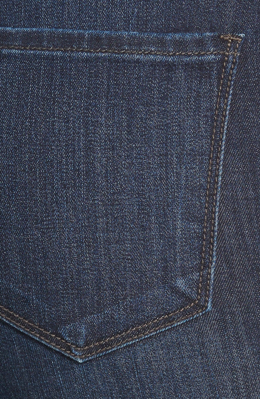 'Brooke' Stretch Bootcut Jeans,                             Alternate thumbnail 4, color,                             421