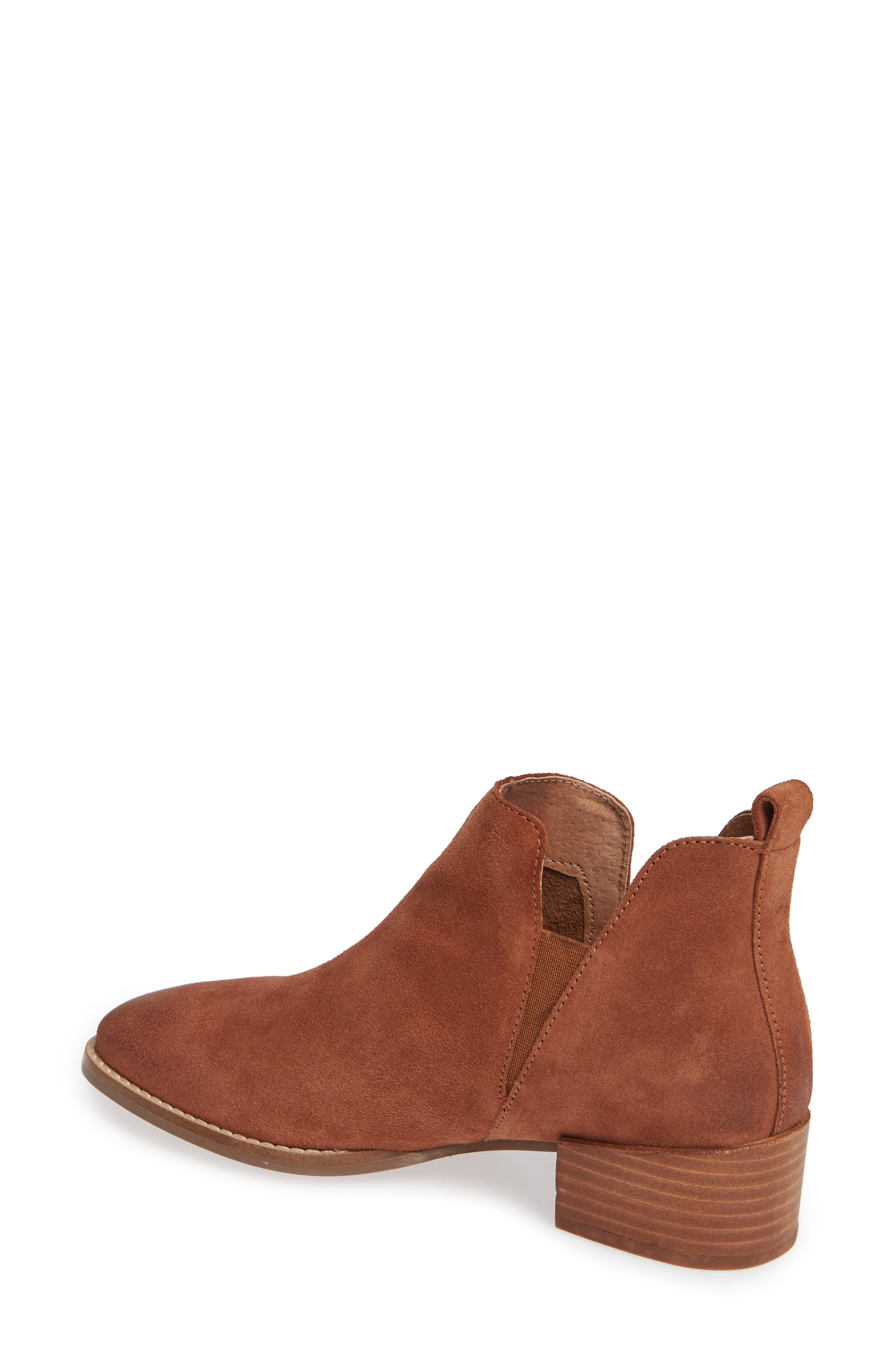 Offstage Boot,                             Alternate thumbnail 2, color,                             COGNAC SUEDE