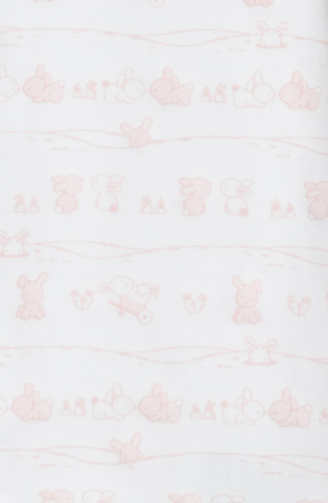 Bunny Tails Footie,                             Alternate thumbnail 2, color,                             650
