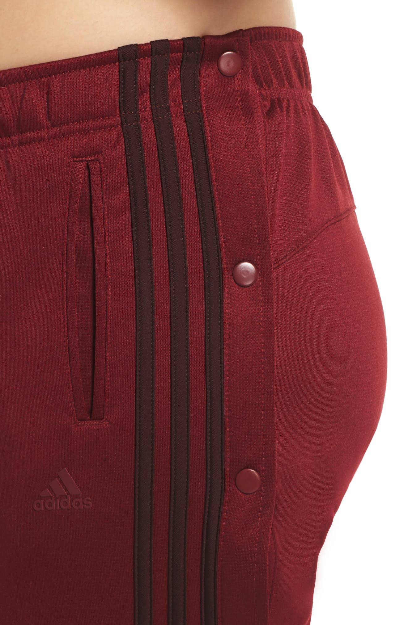 Tricot Snap Pants,                             Alternate thumbnail 10, color,                             NOBLE MAROON/ NIGHT RED