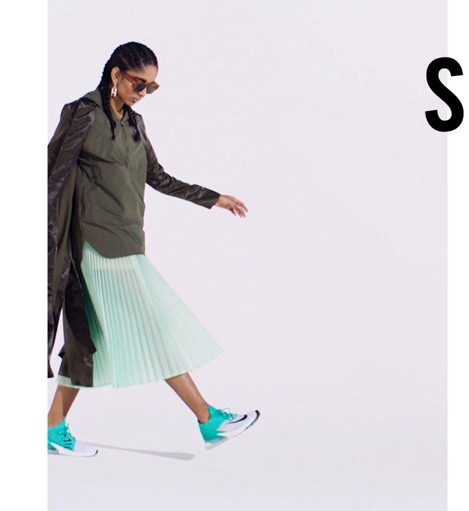 Nordstrom x Nike: spring.