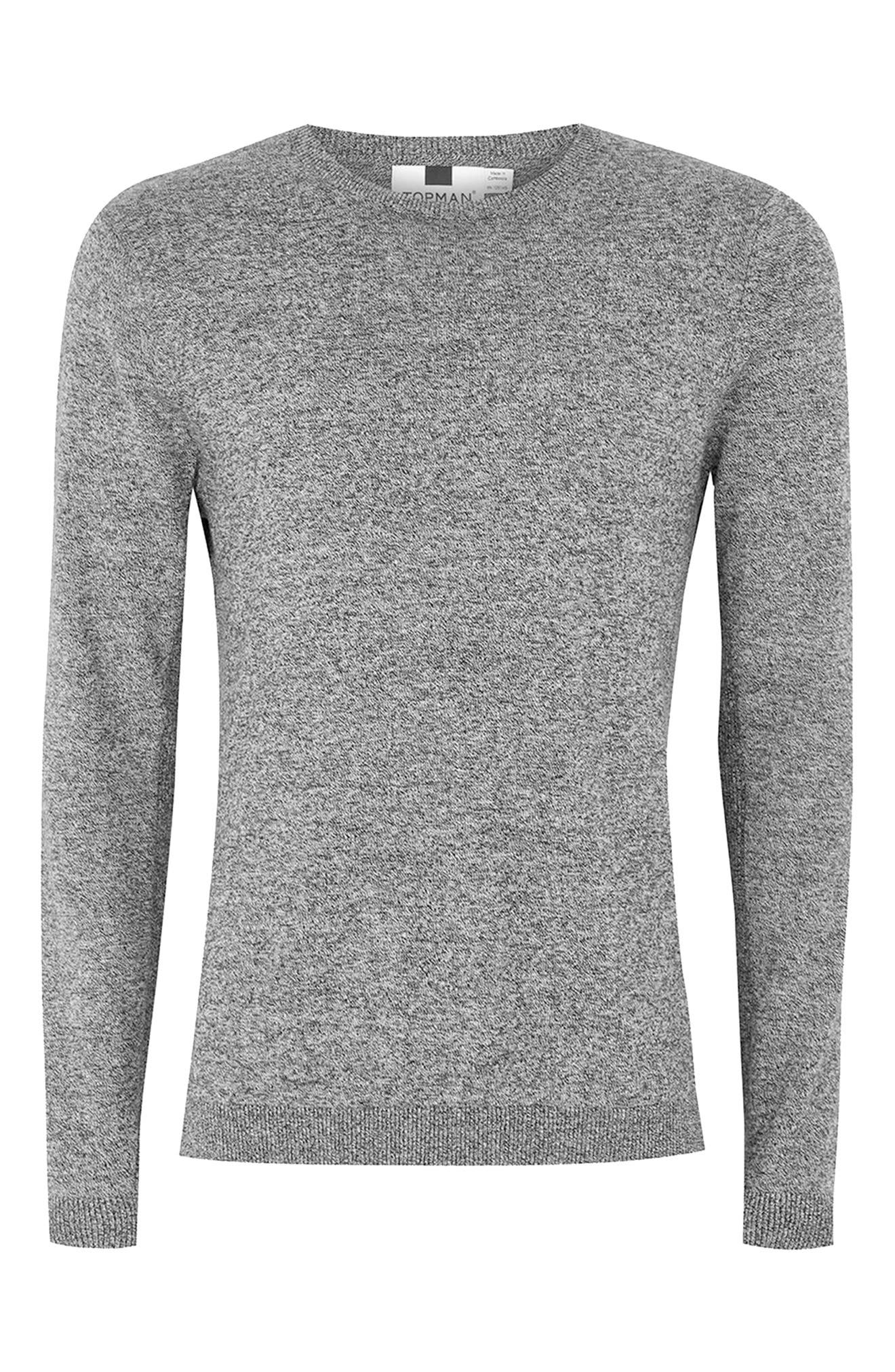 Side Ribbed Slim Fit Sweater,                             Alternate thumbnail 26, color,