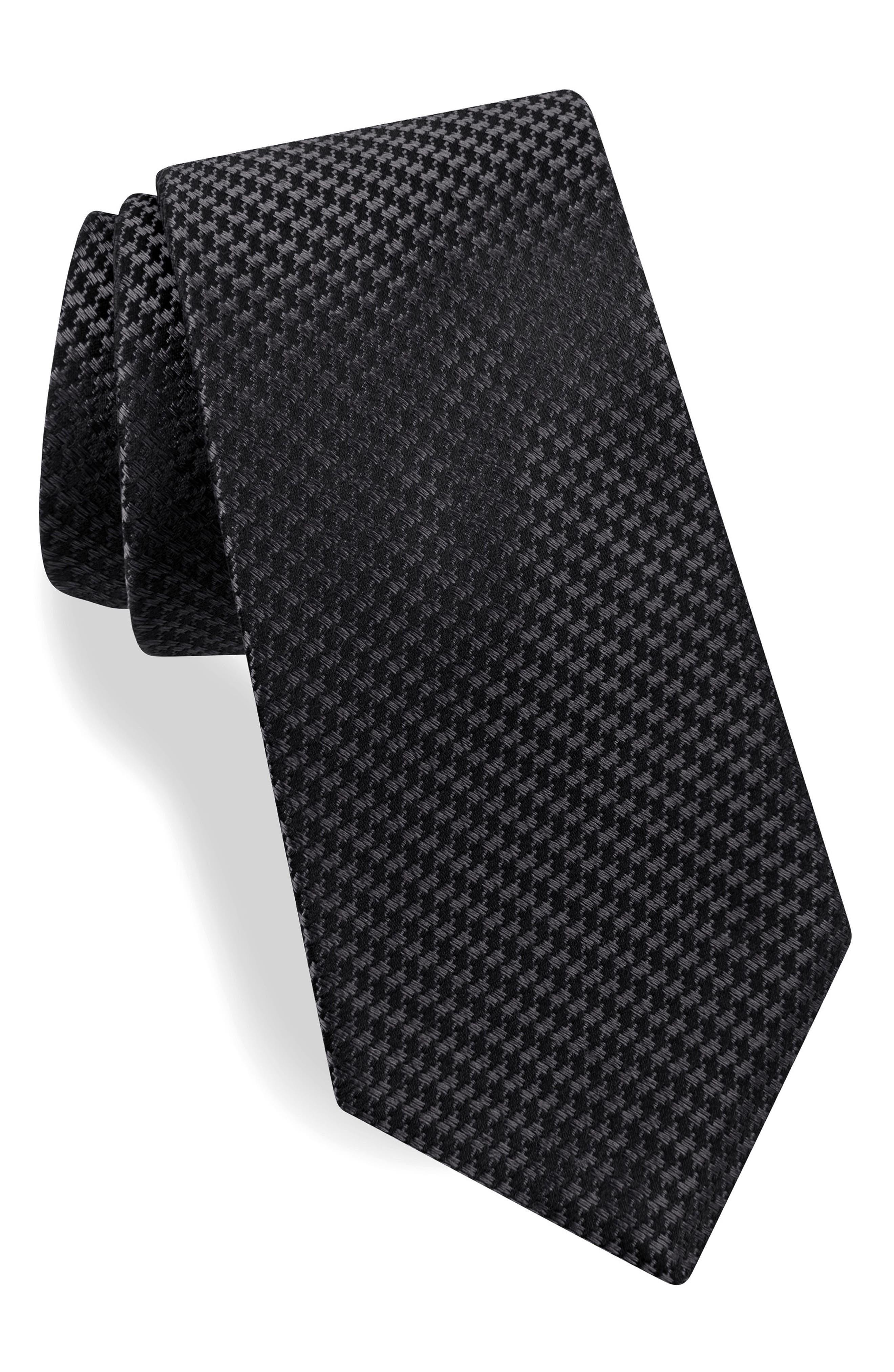 Geometric Silk Tie,                         Main,                         color, 060