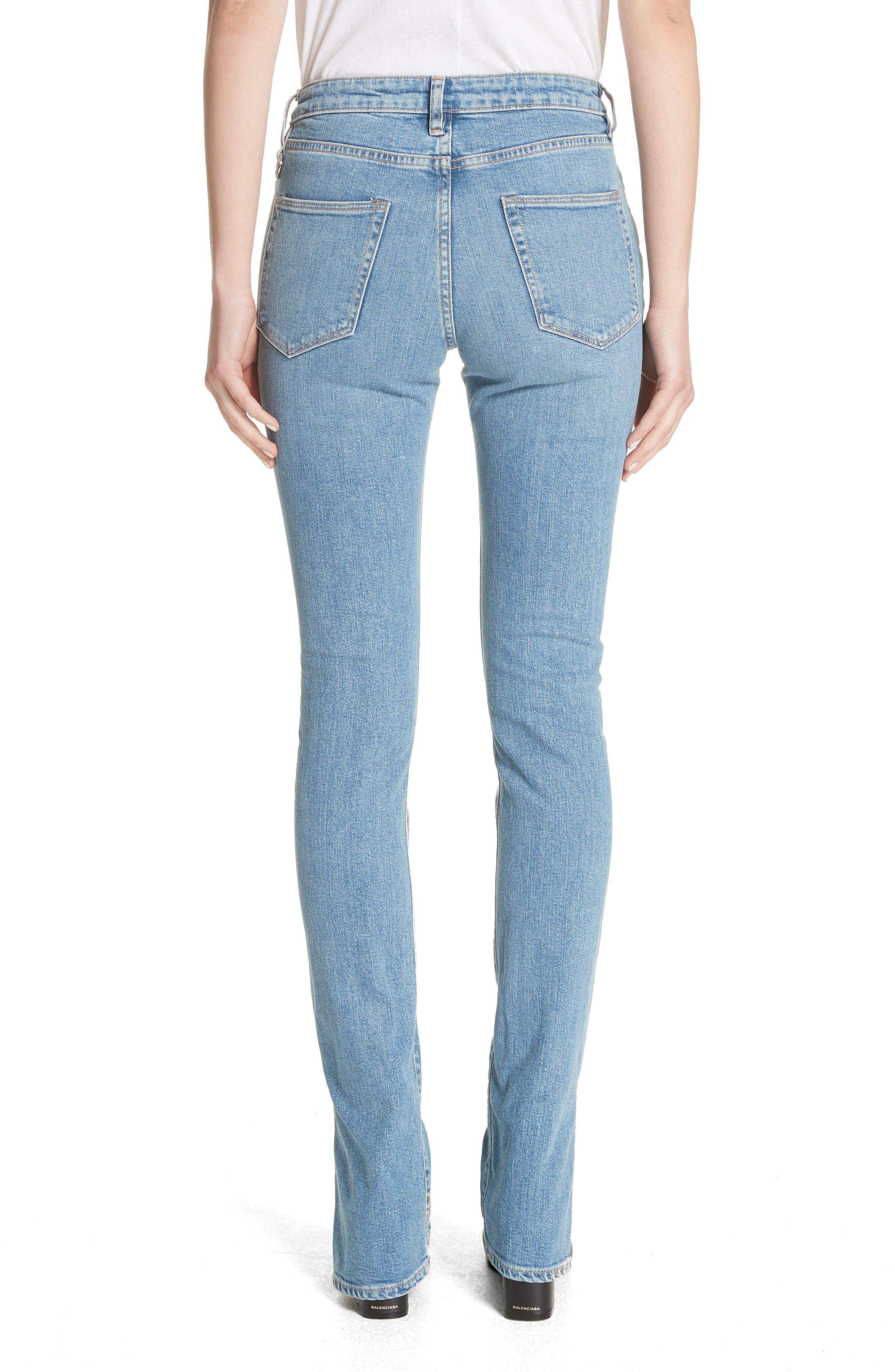 Lowry Split Hem Jeans,                             Alternate thumbnail 2, color,                             400