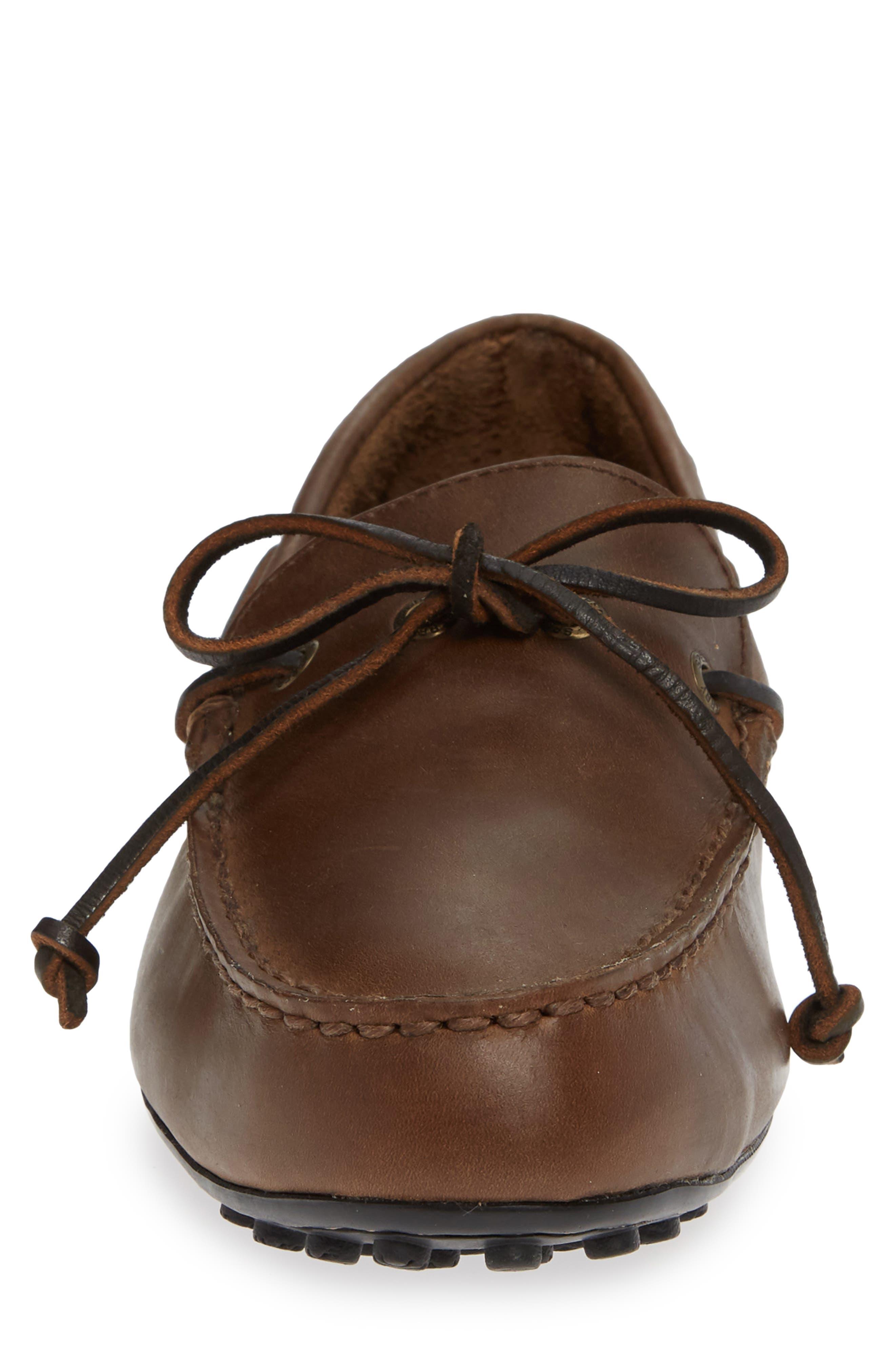 SPERRY,                             Hamilton II Driving Shoe,                             Alternate thumbnail 4, color,                             DARK BROWN