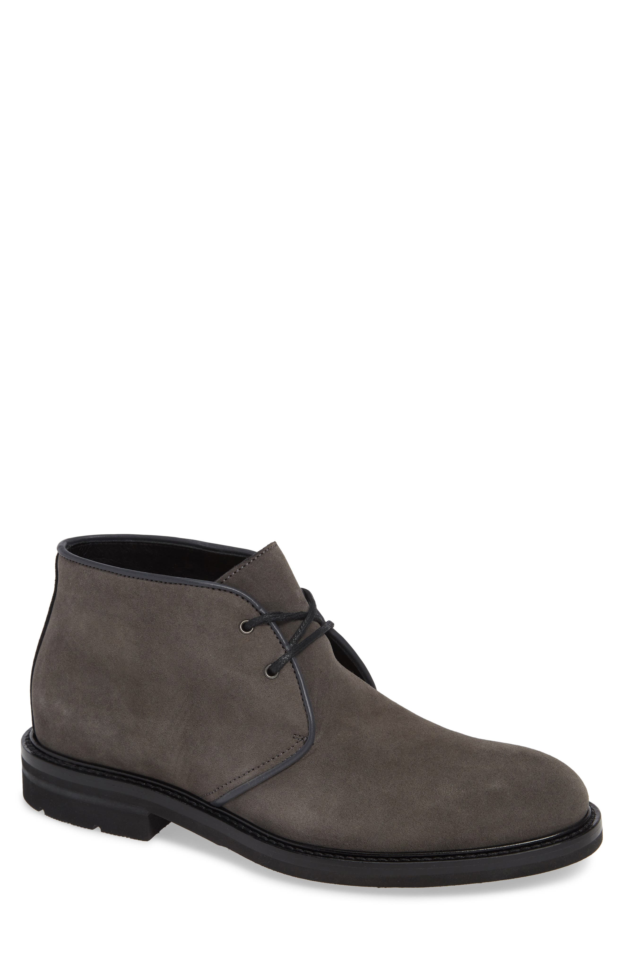 Aquatalia Rinaldo Chukka Water Resistant Boot- Grey