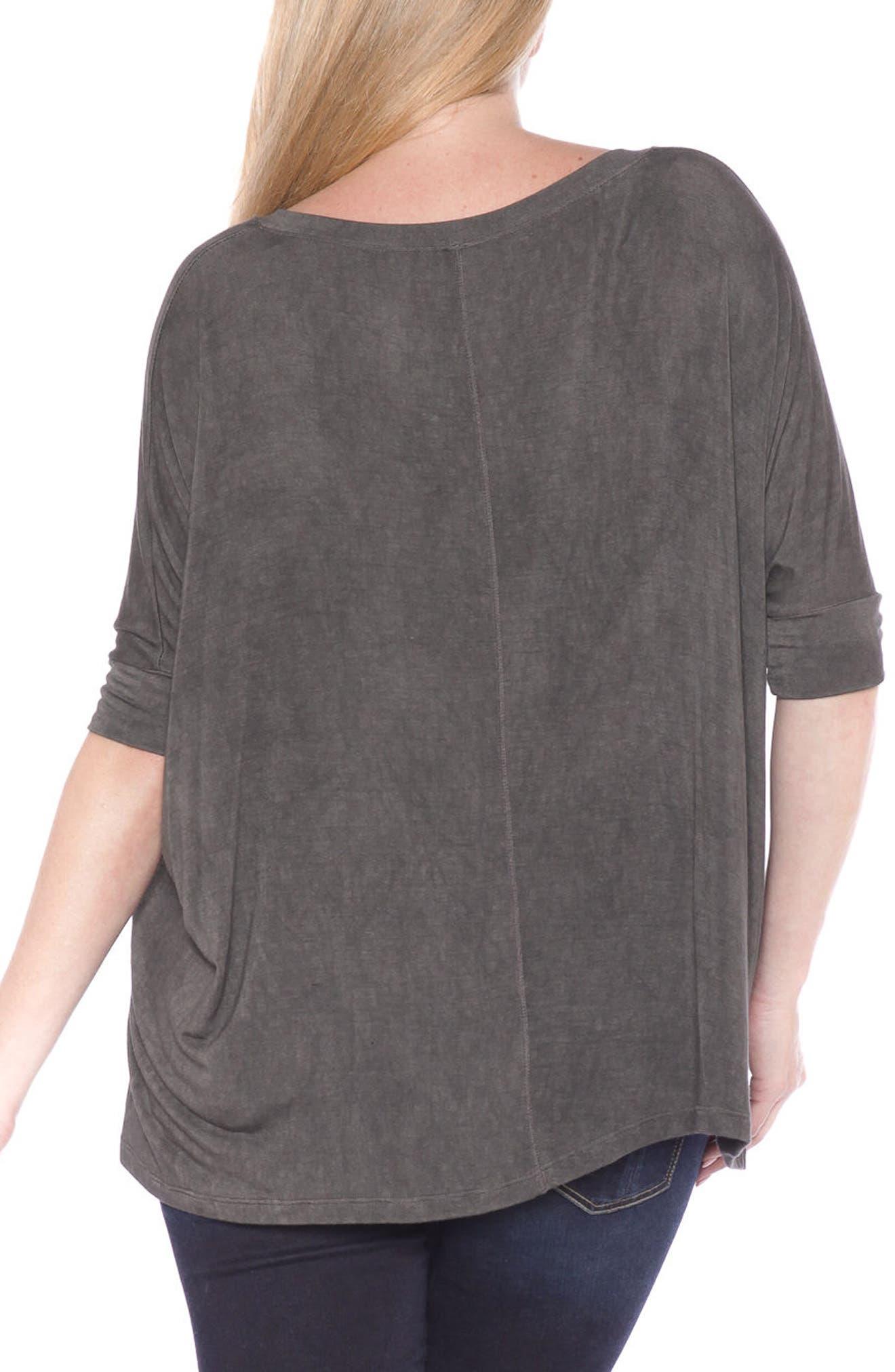 Dolman Sleeve Top,                             Alternate thumbnail 2, color,                             001