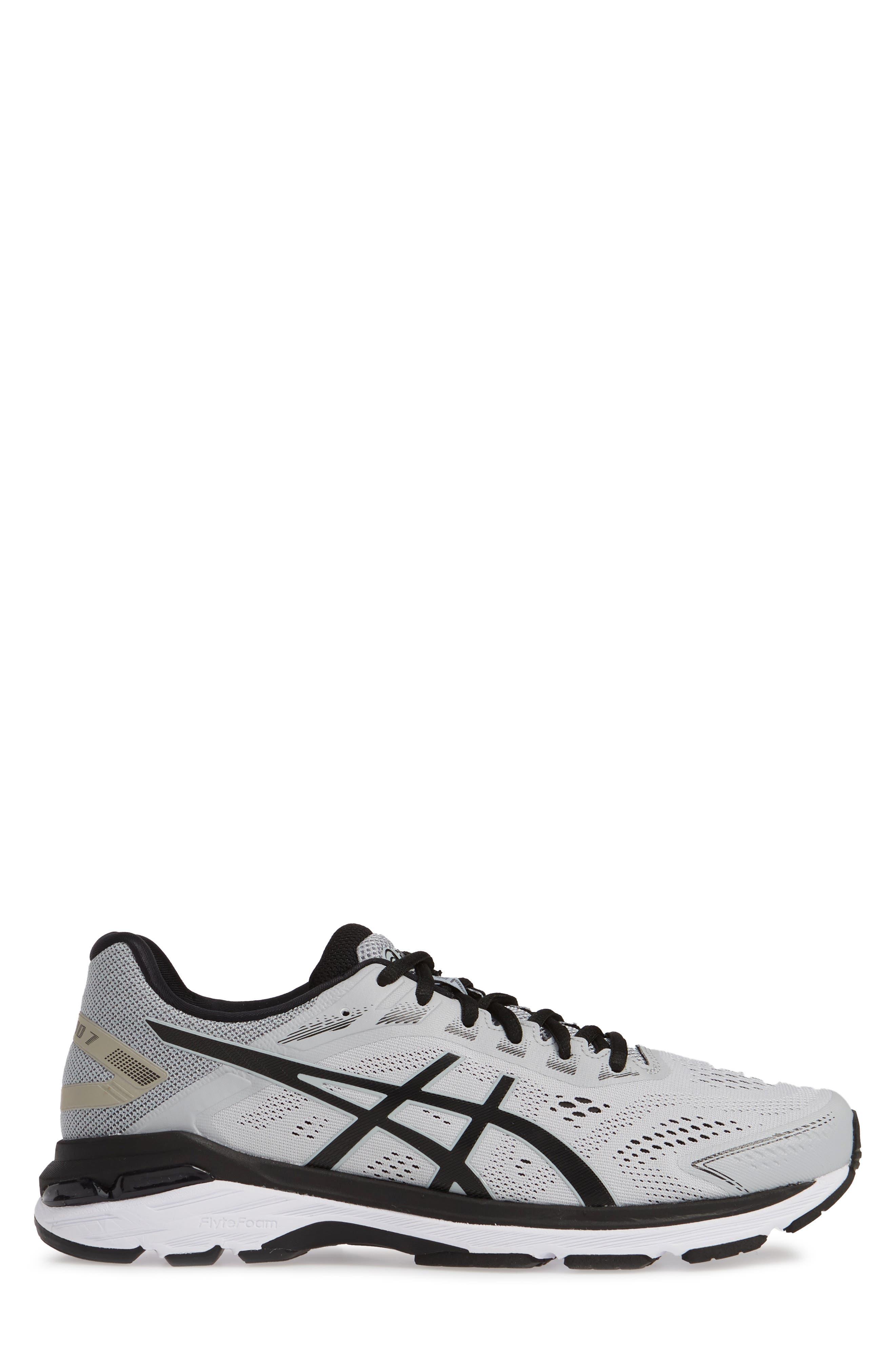 GT-2000 7 Running Shoe,                             Alternate thumbnail 3, color,                             MID GREY/ BLACK