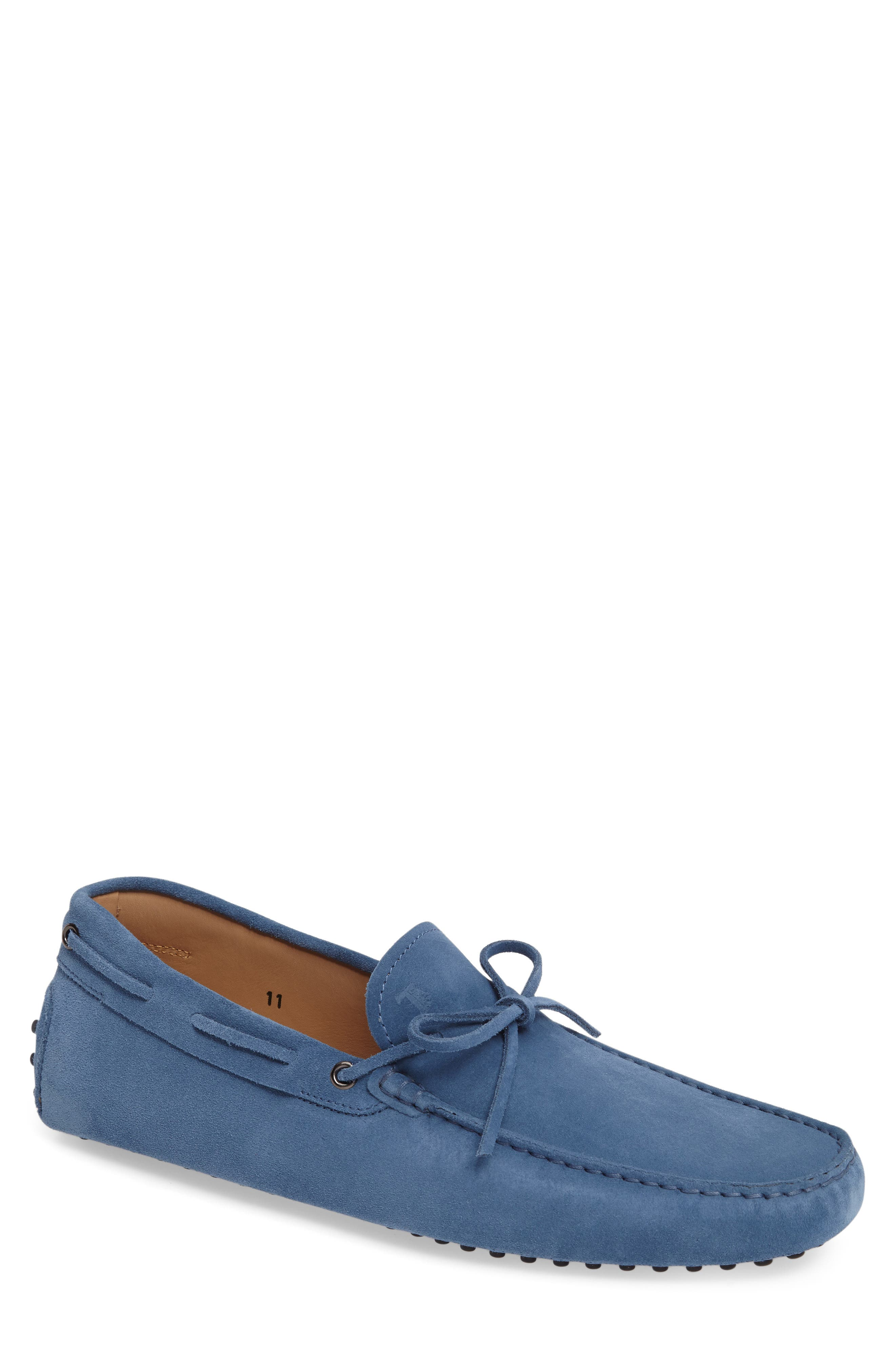 Gommini Tie Front Driving Moccasin,                             Main thumbnail 14, color,