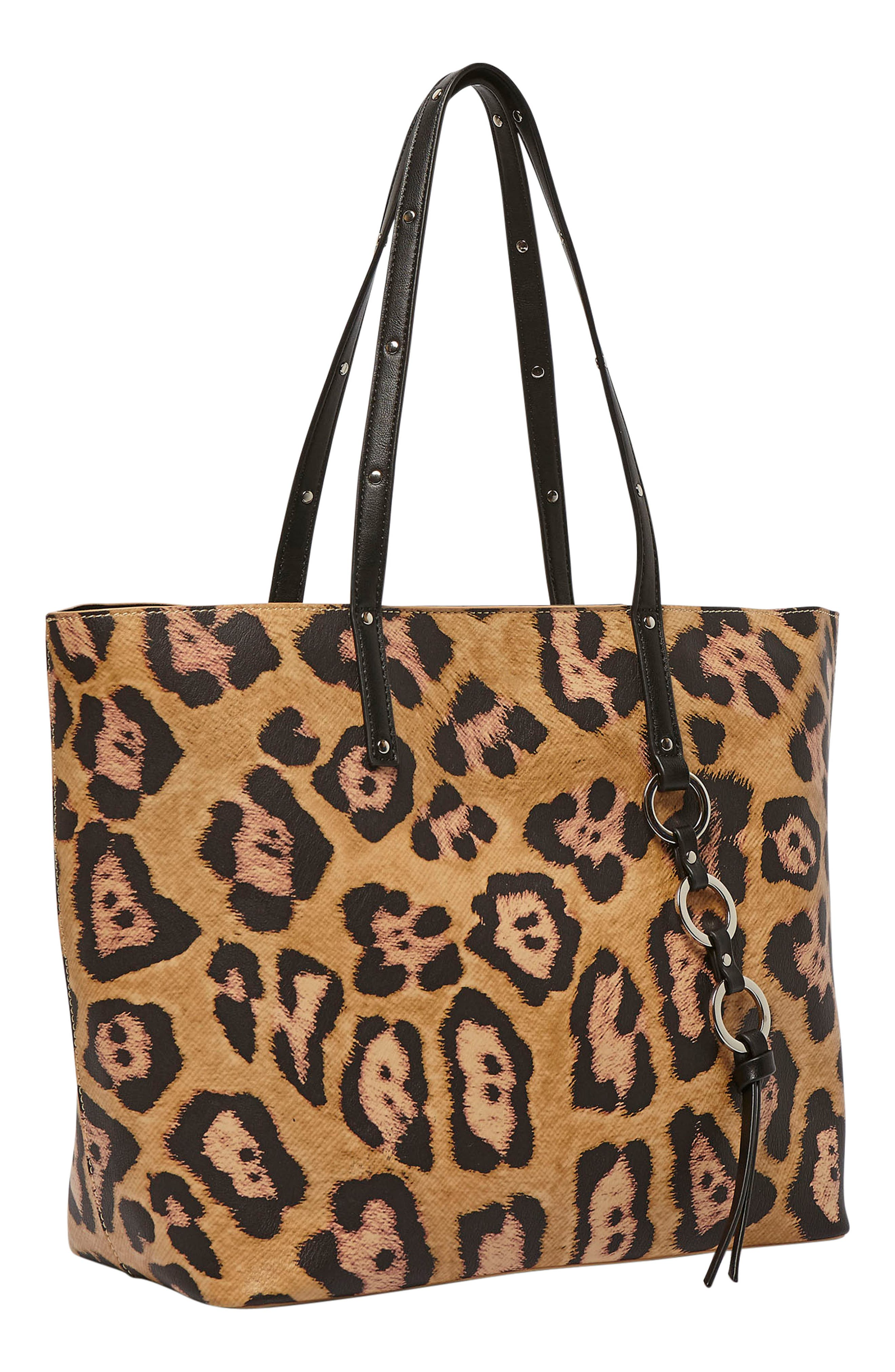 Wild Fire Vegan Leather Tote,                             Alternate thumbnail 12, color,