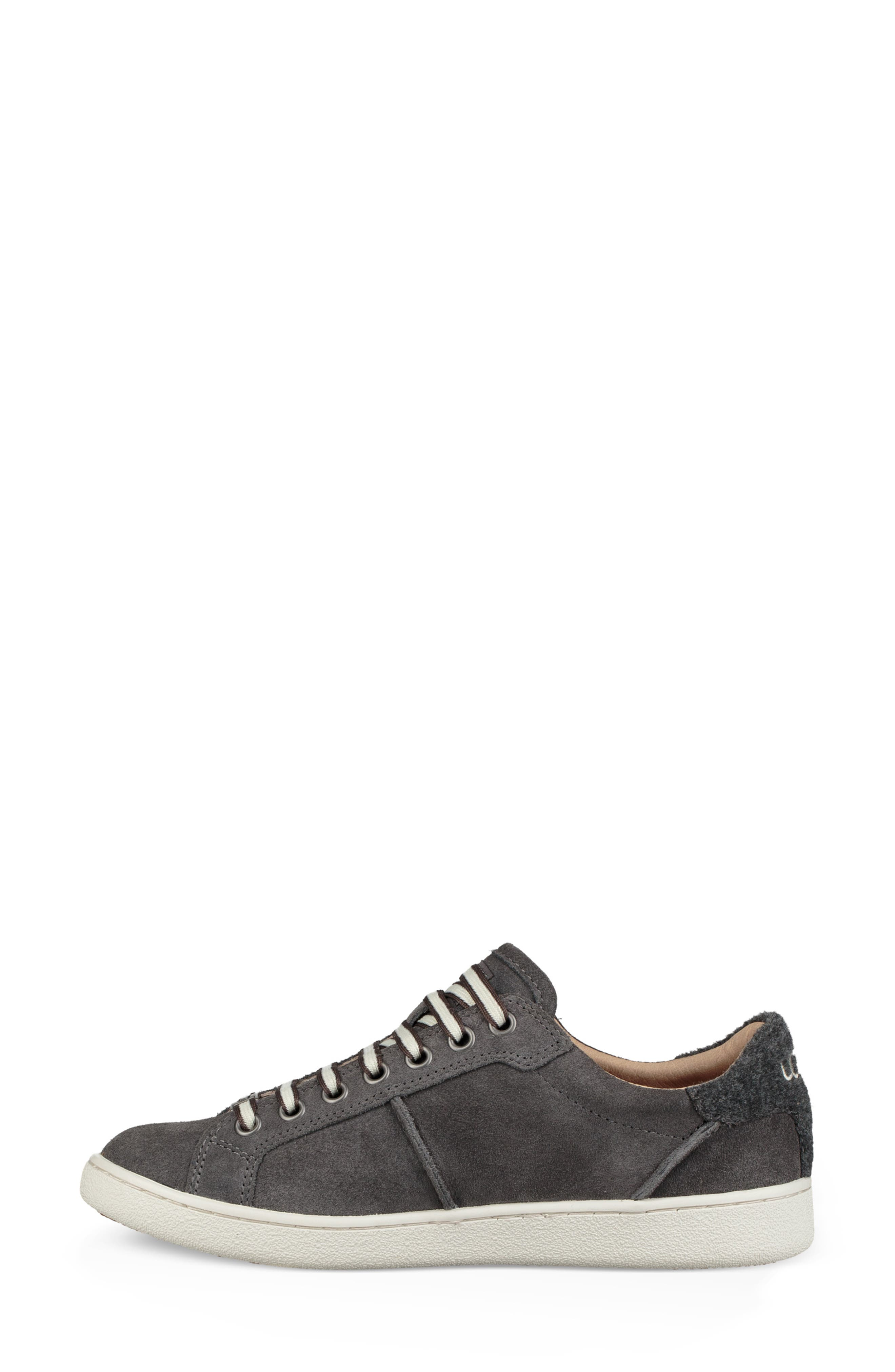 Milo Sneaker,                             Alternate thumbnail 6, color,                             CHARCOAL SUEDE
