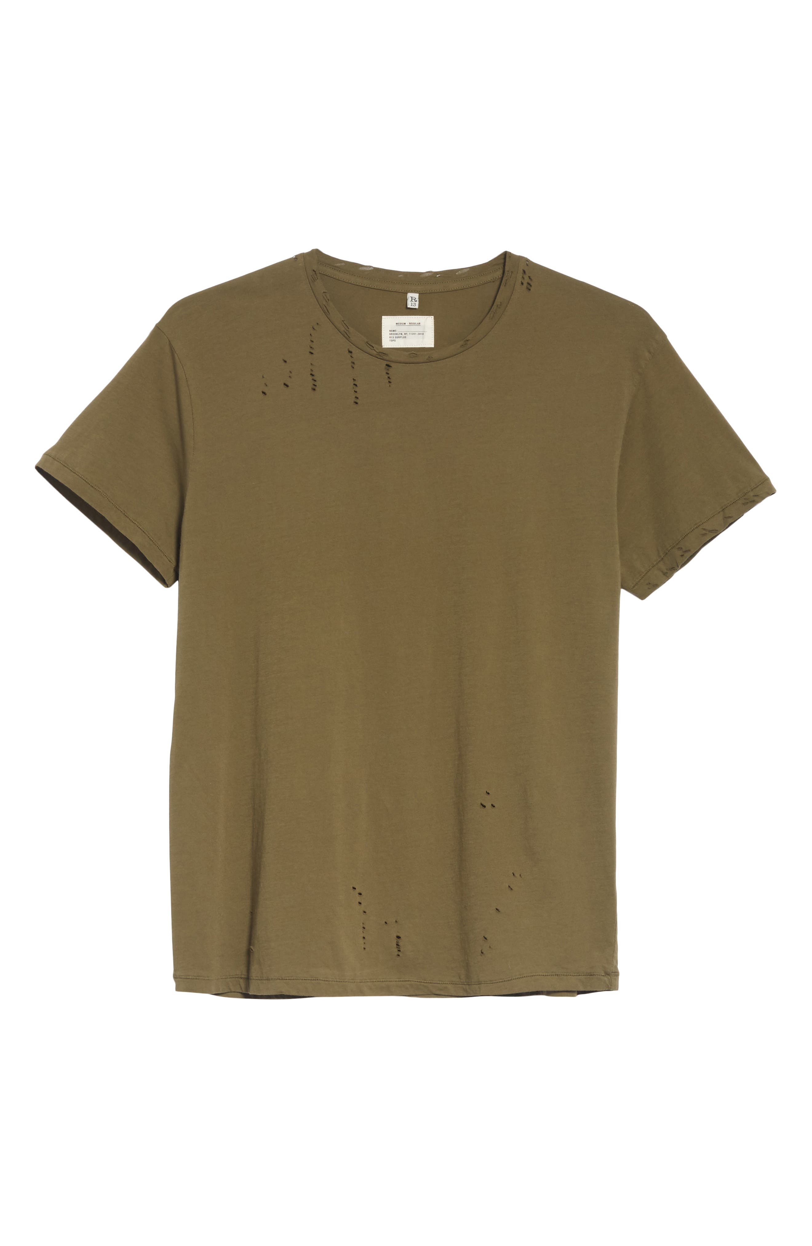 Surplus Destroyed T-Shirt,                             Alternate thumbnail 6, color,                             336