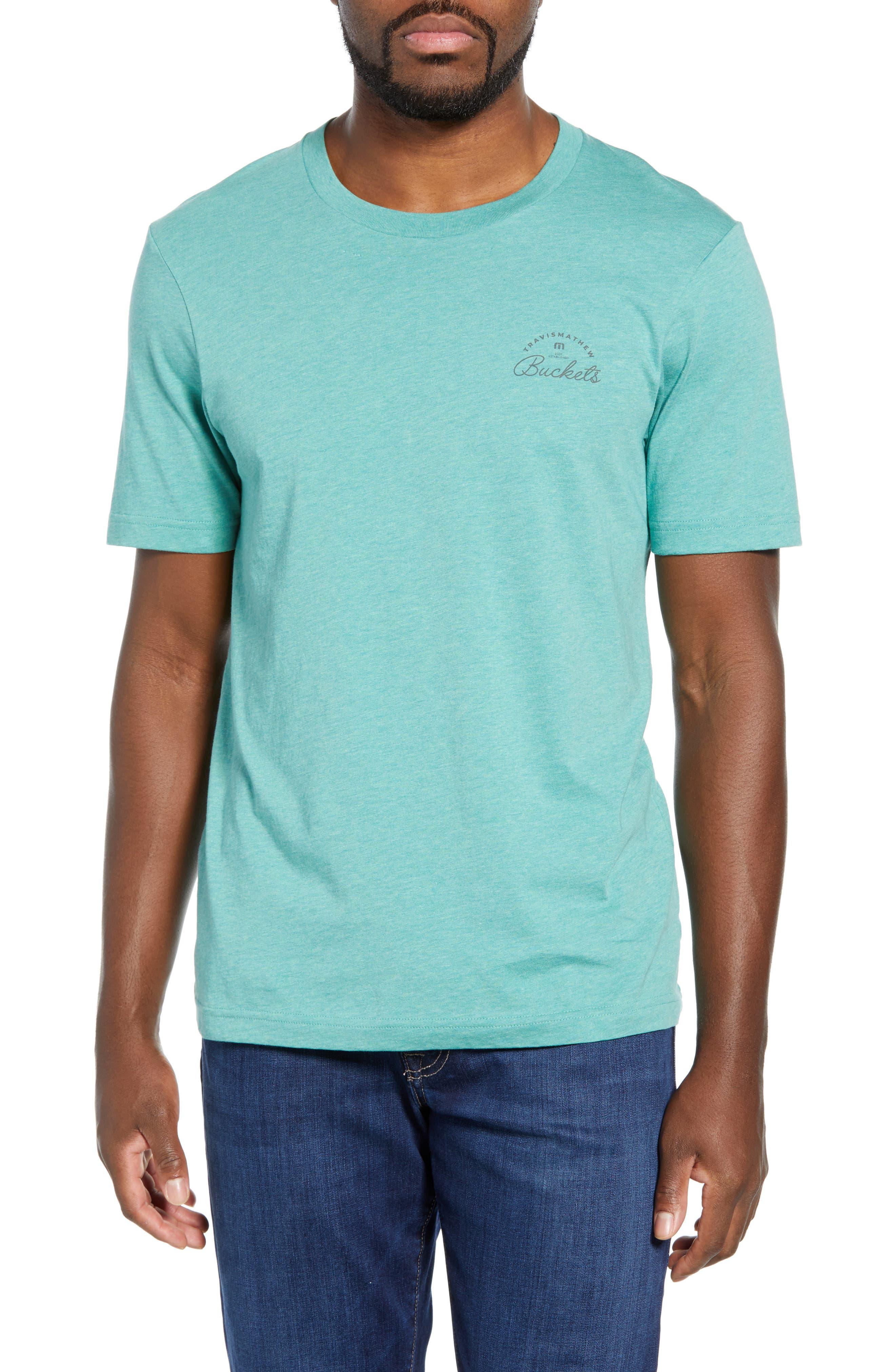 Travismathew Pay Attention Graphic T-Shirt, Green