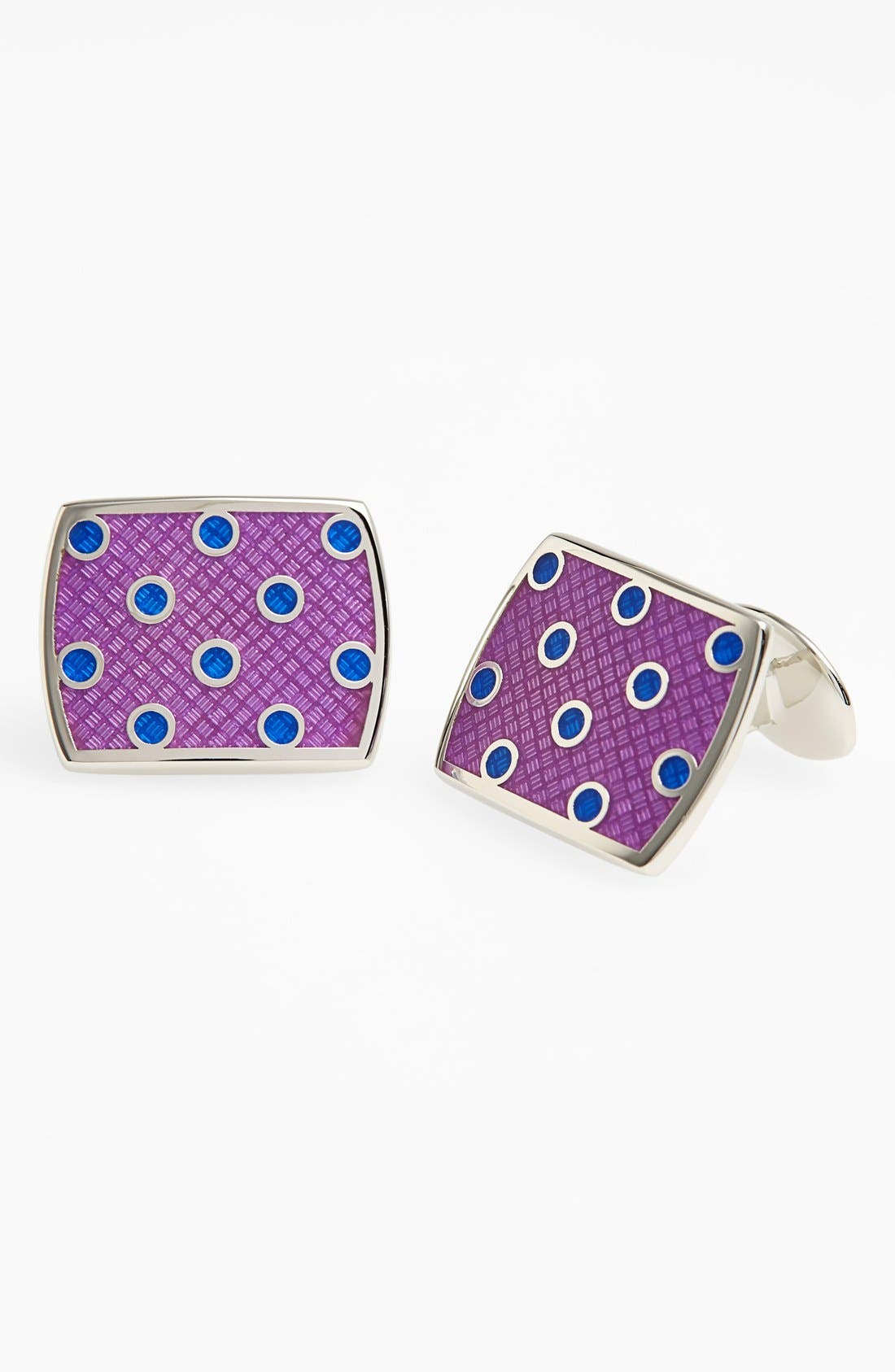Polka Dot Cuff Links,                             Main thumbnail 1, color,                             044