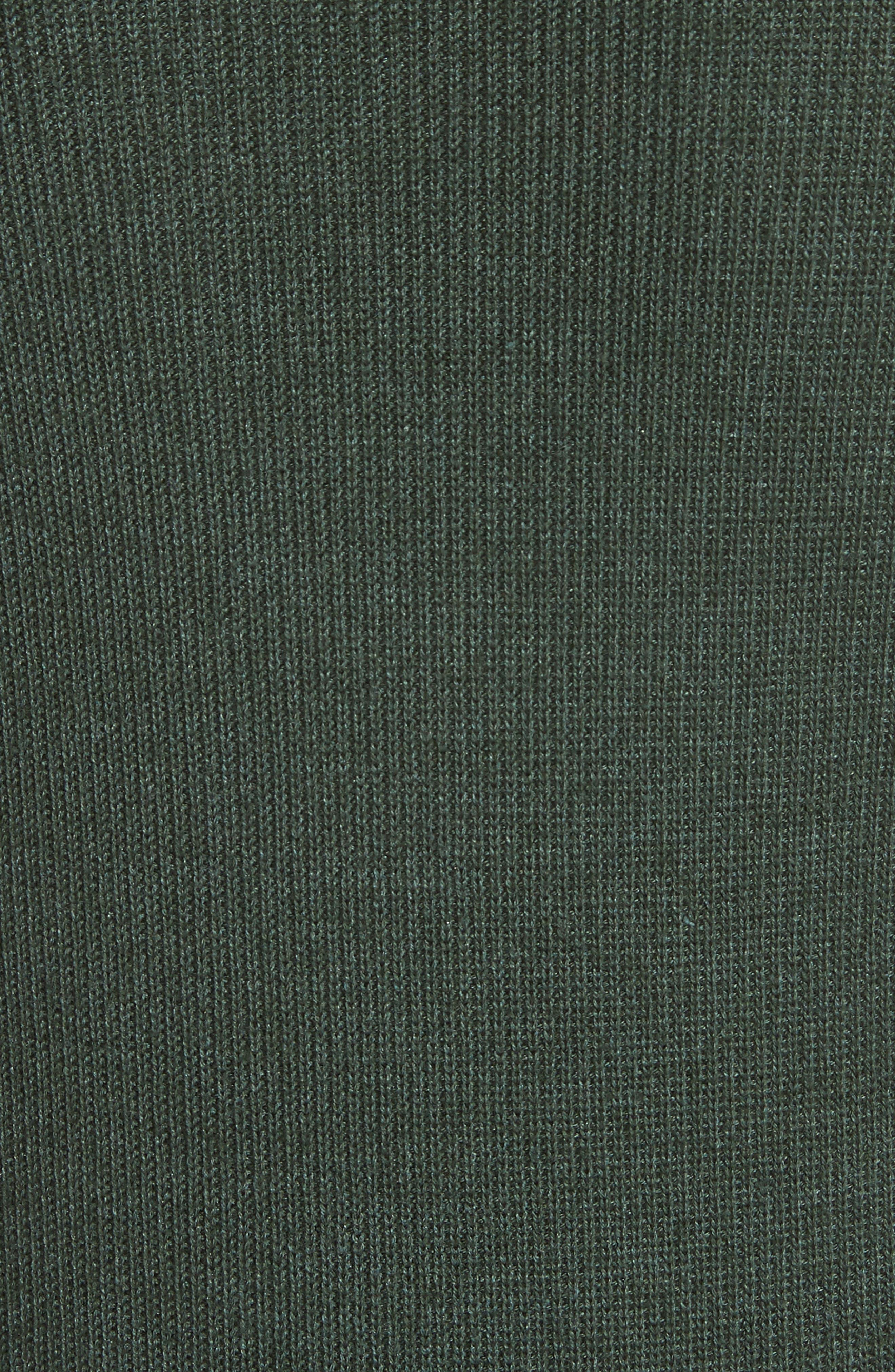 Button Seam Silk & Merino Wool Sweater,                             Alternate thumbnail 5, color,                             368