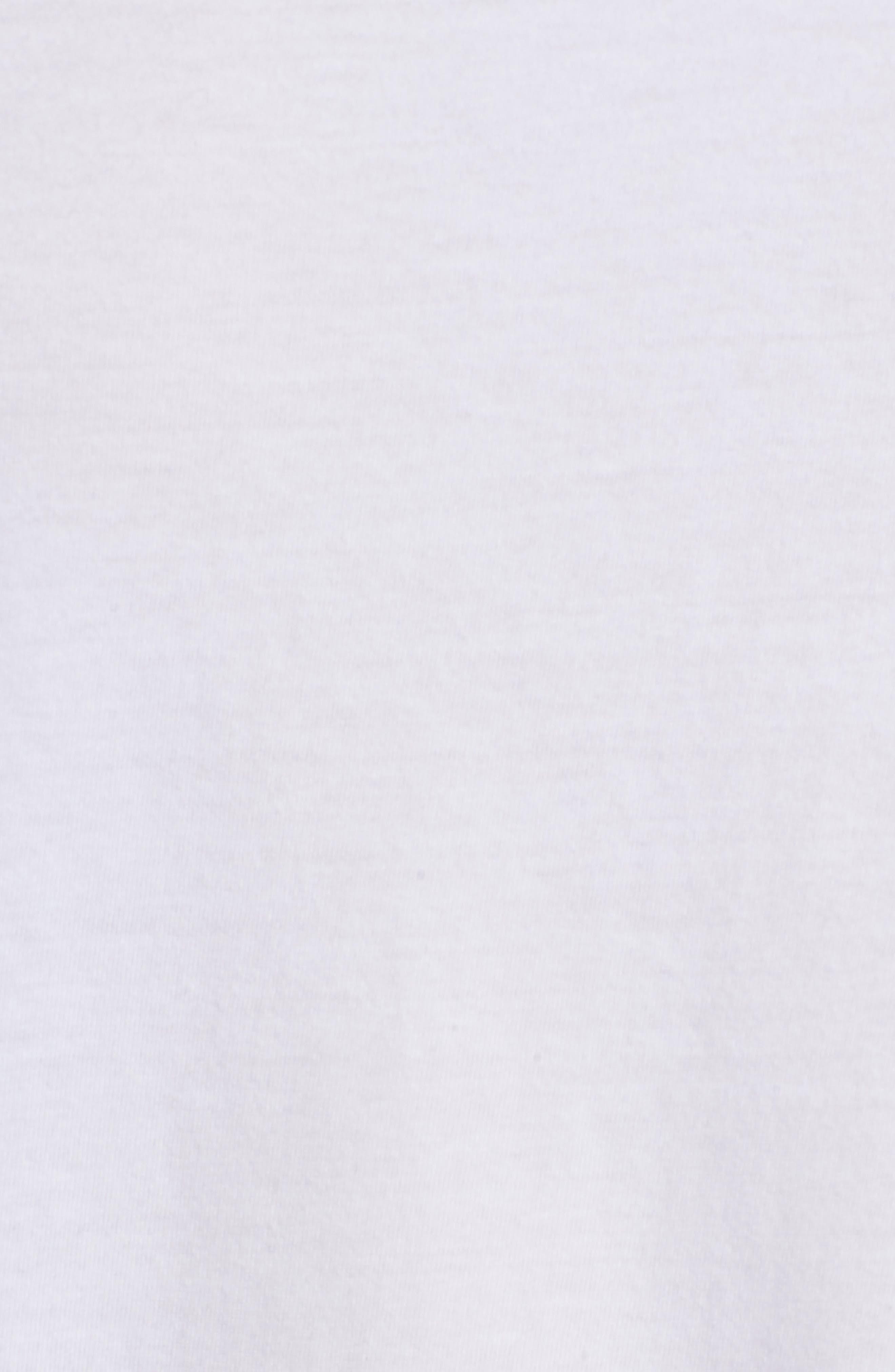 Crewneck Pocket T-Shirt,                             Alternate thumbnail 5, color,                             WHITE