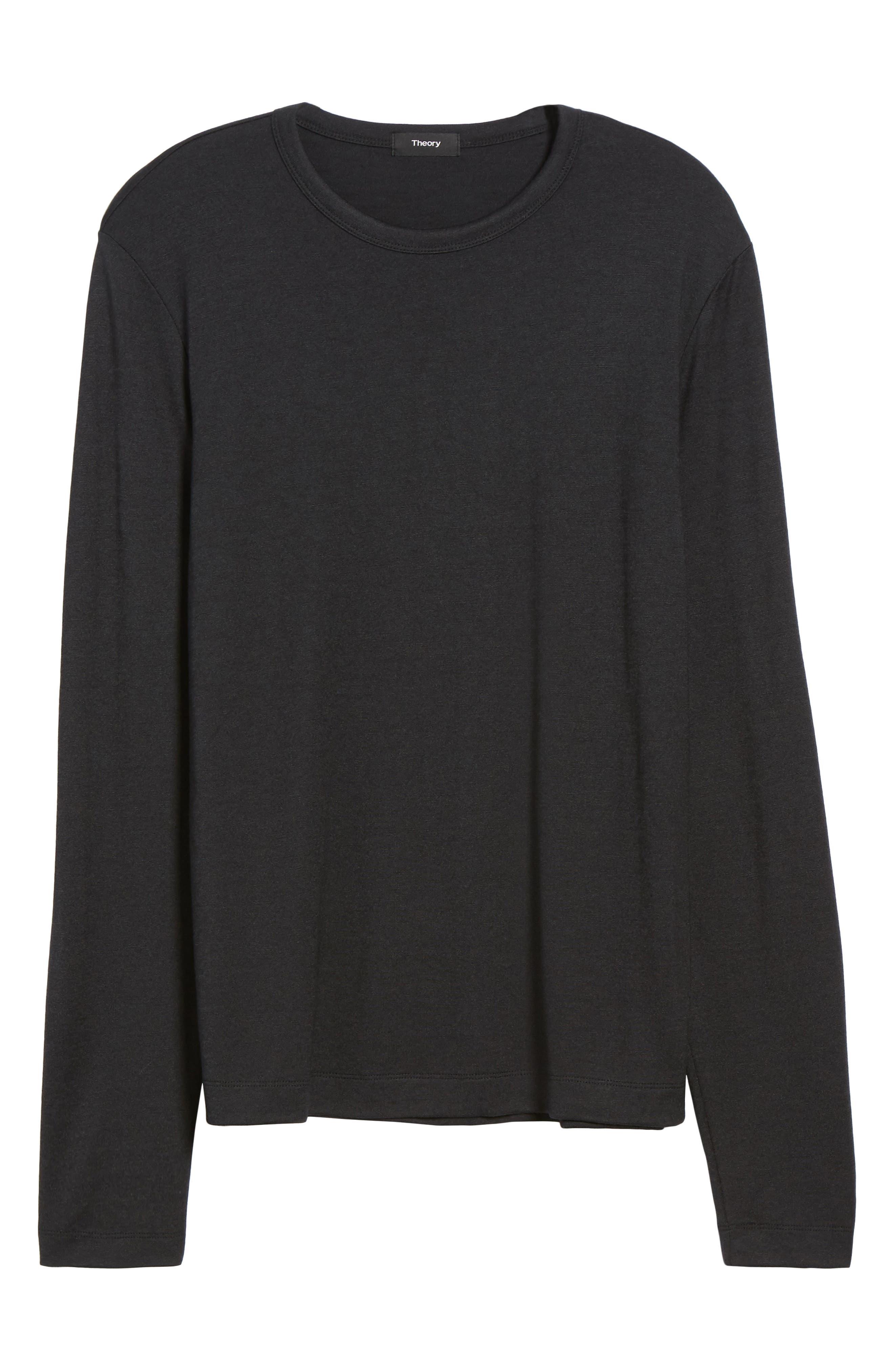 Long Sleeve T-Shirt,                             Alternate thumbnail 6, color,                             008