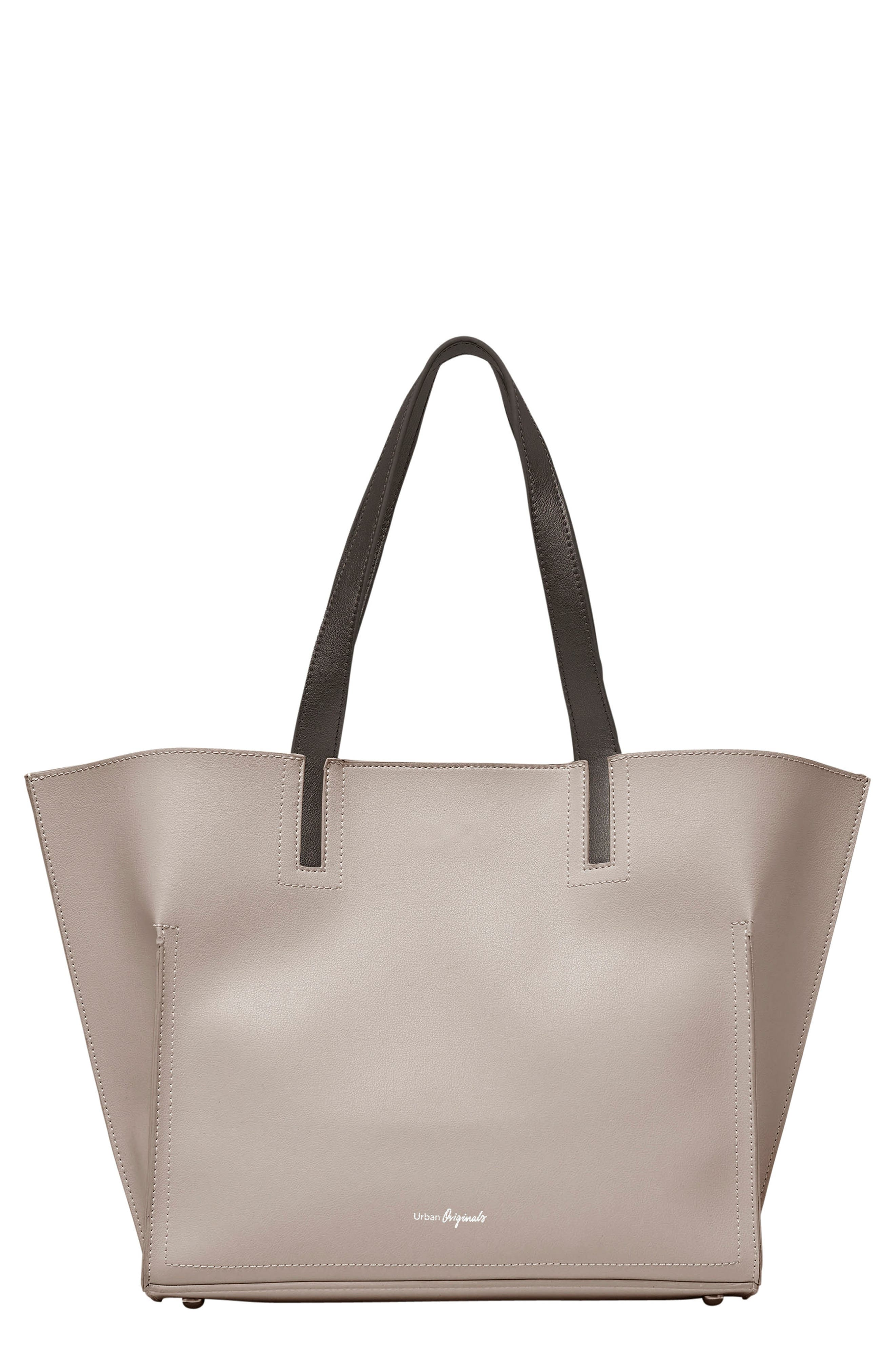 Obsession Vegan Leather Tote,                             Main thumbnail 4, color,