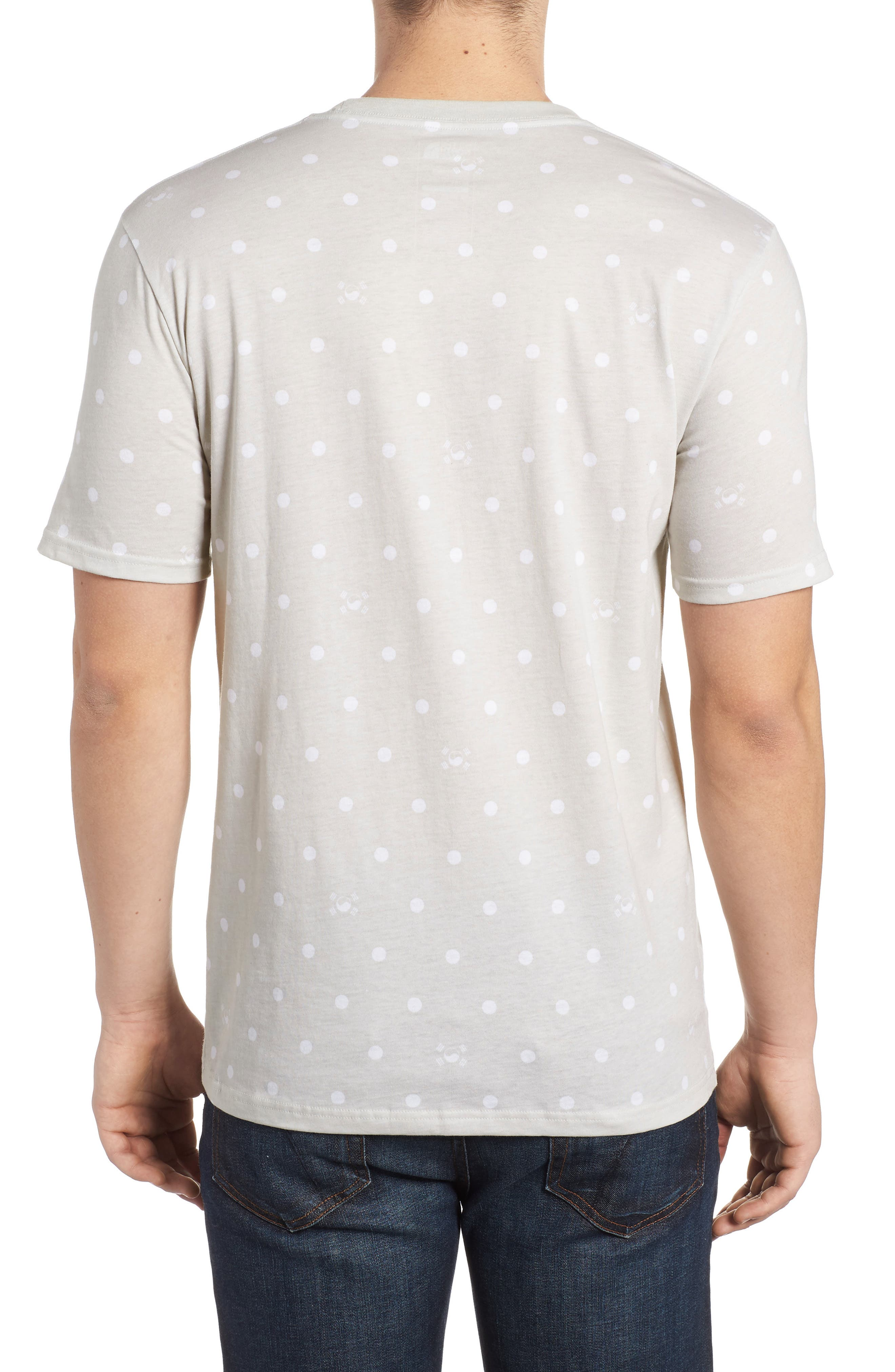 International Collection Star Print T-Shirt,                             Alternate thumbnail 2, color,                             030
