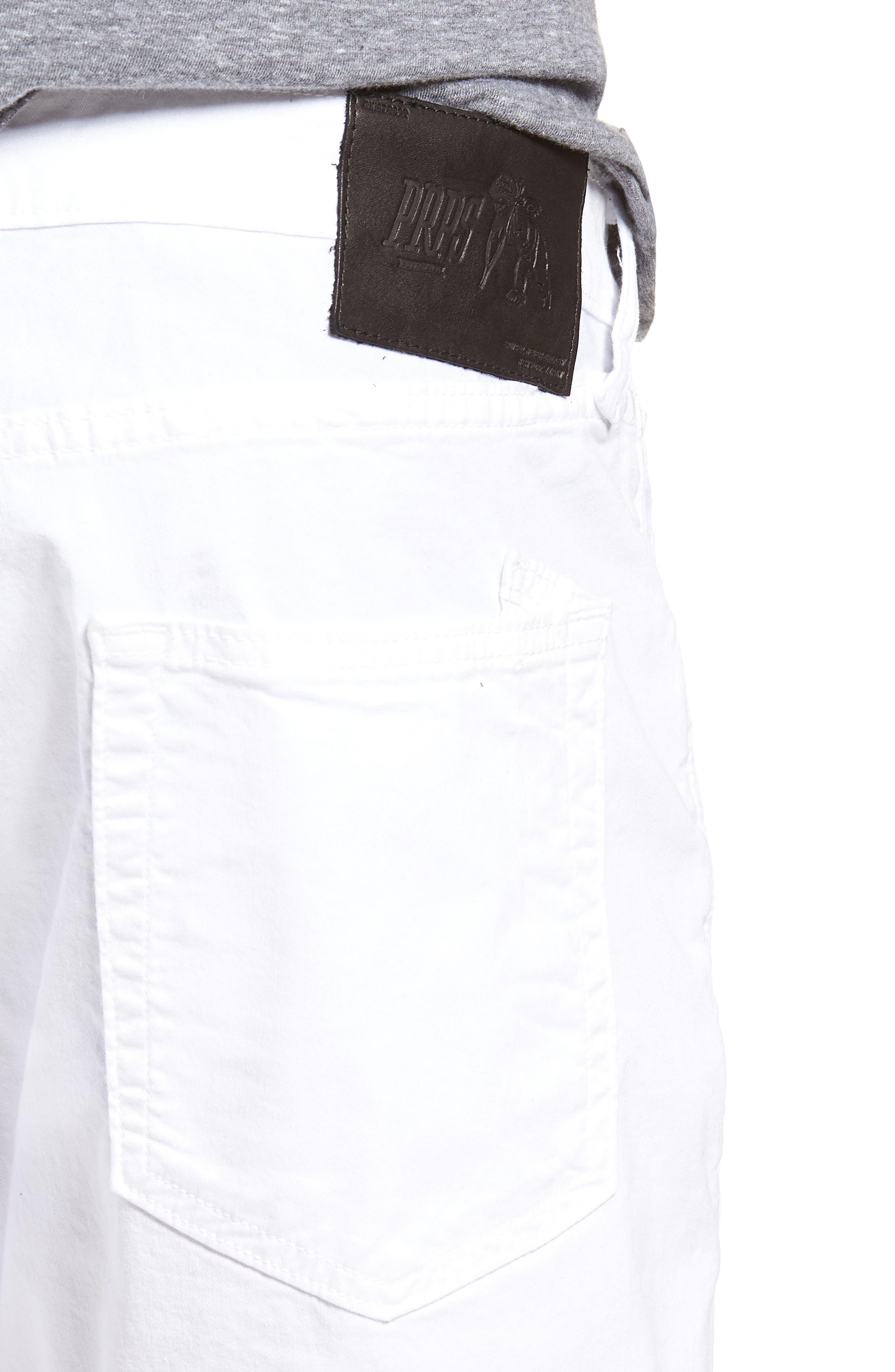 Windsor Slim Fit Jeans,                             Alternate thumbnail 4, color,                             SKELETON