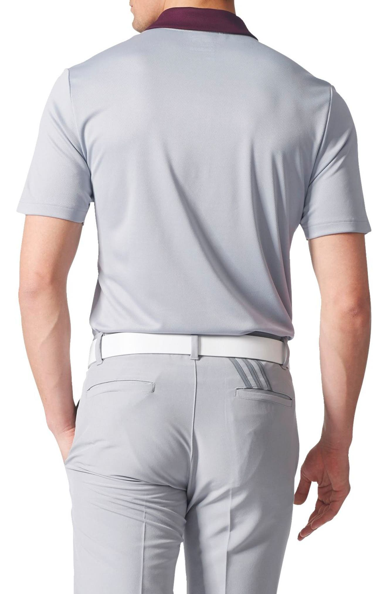 Climacool<sup>®</sup> Colorblocked Polo,                             Alternate thumbnail 2, color,