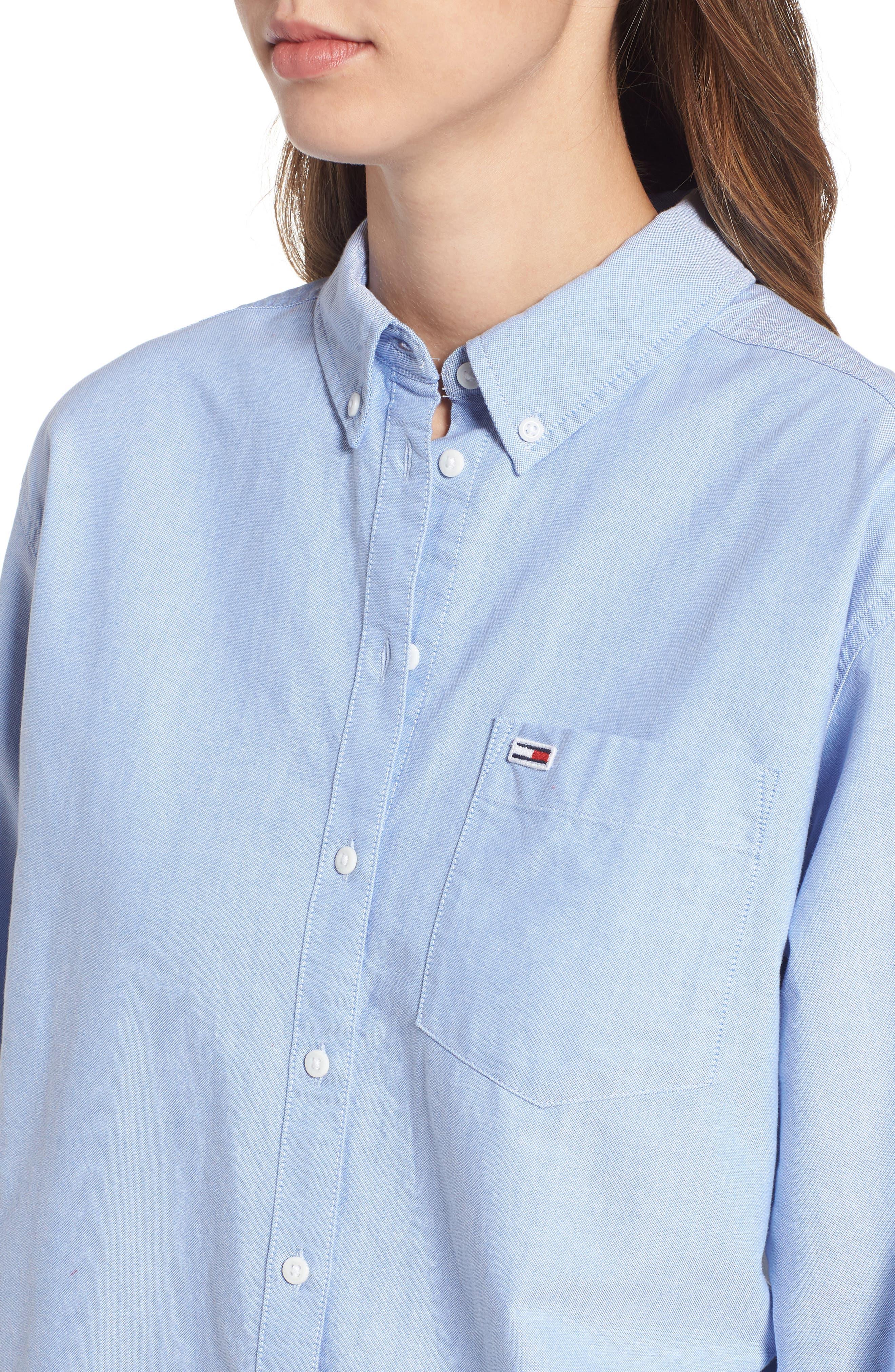 Classics Shirt,                             Alternate thumbnail 4, color,                             LIGHT BLUE