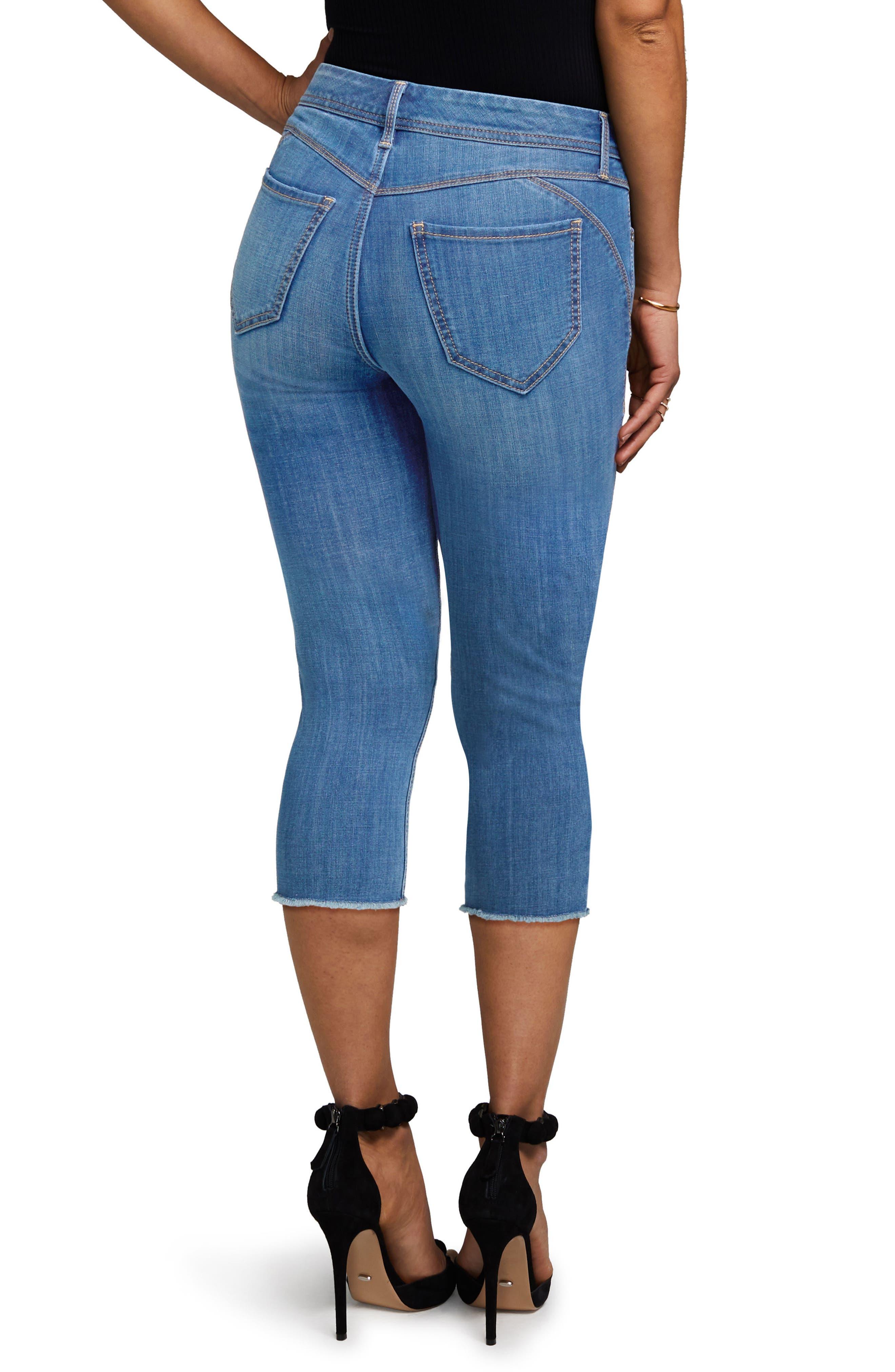 Crop Skinny Jeans,                             Alternate thumbnail 2, color,                             402