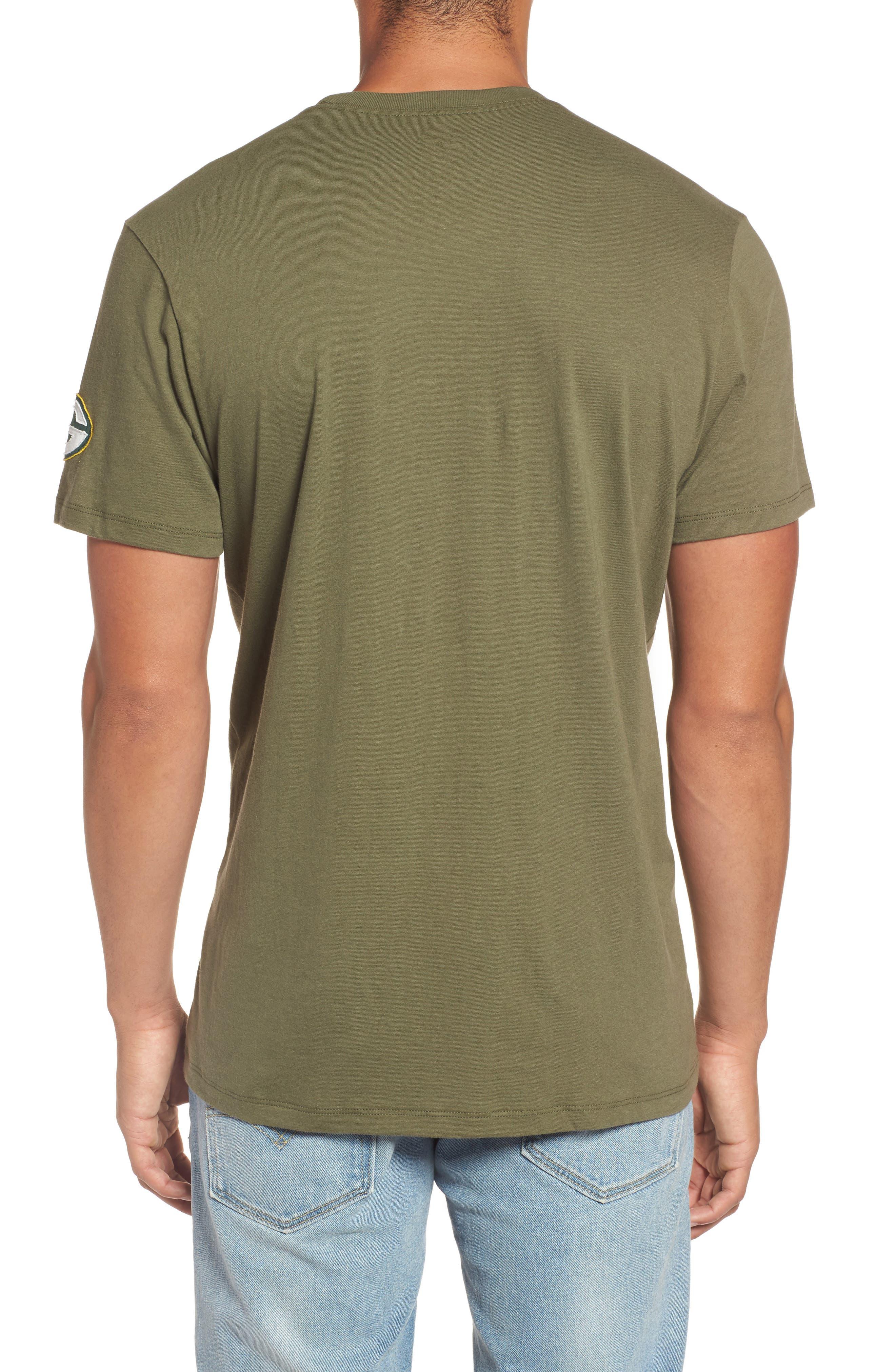 Green Bay Packers Borderland T-Shirt,                             Alternate thumbnail 2, color,                             320