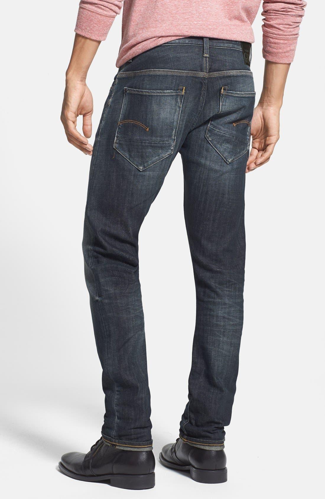 'New Radar' Slim Fit Jeans,                             Alternate thumbnail 6, color,                             404