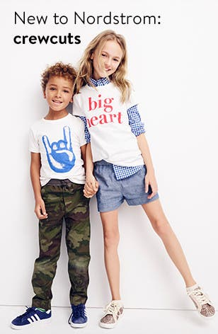 New to Nordstrom: crewcuts by J.Crew for kids.
